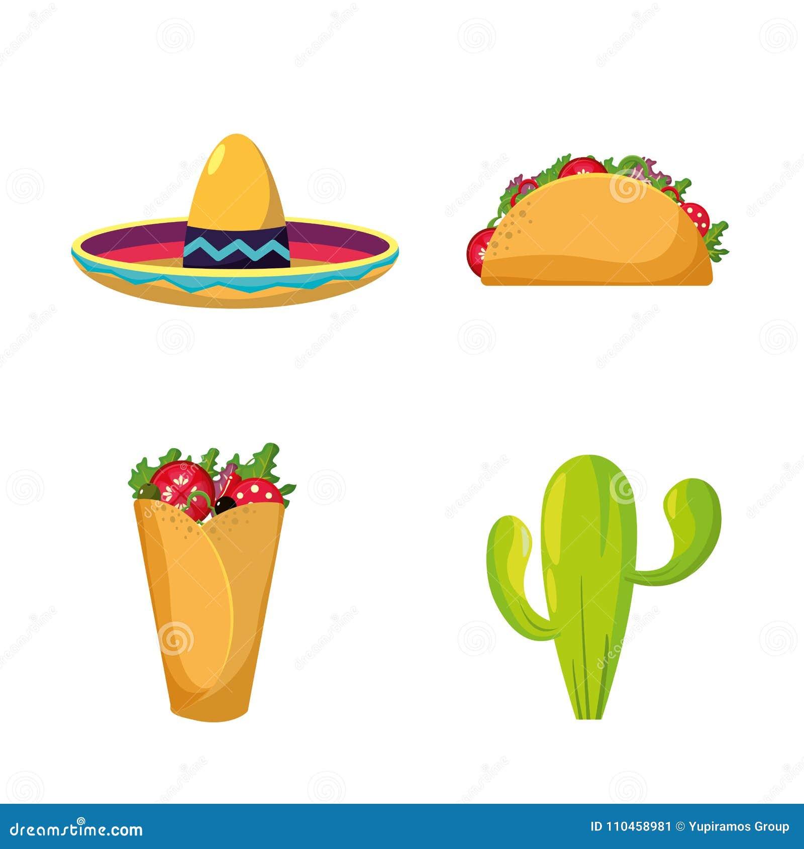 Mexikansk matdesign