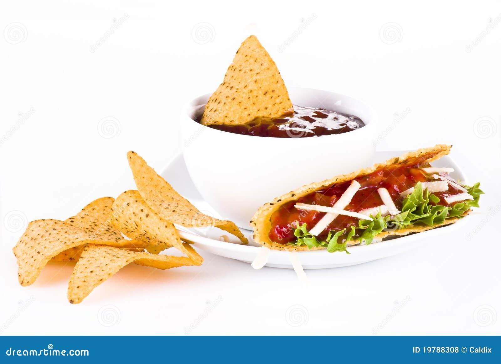 Mexikansk nachostacos