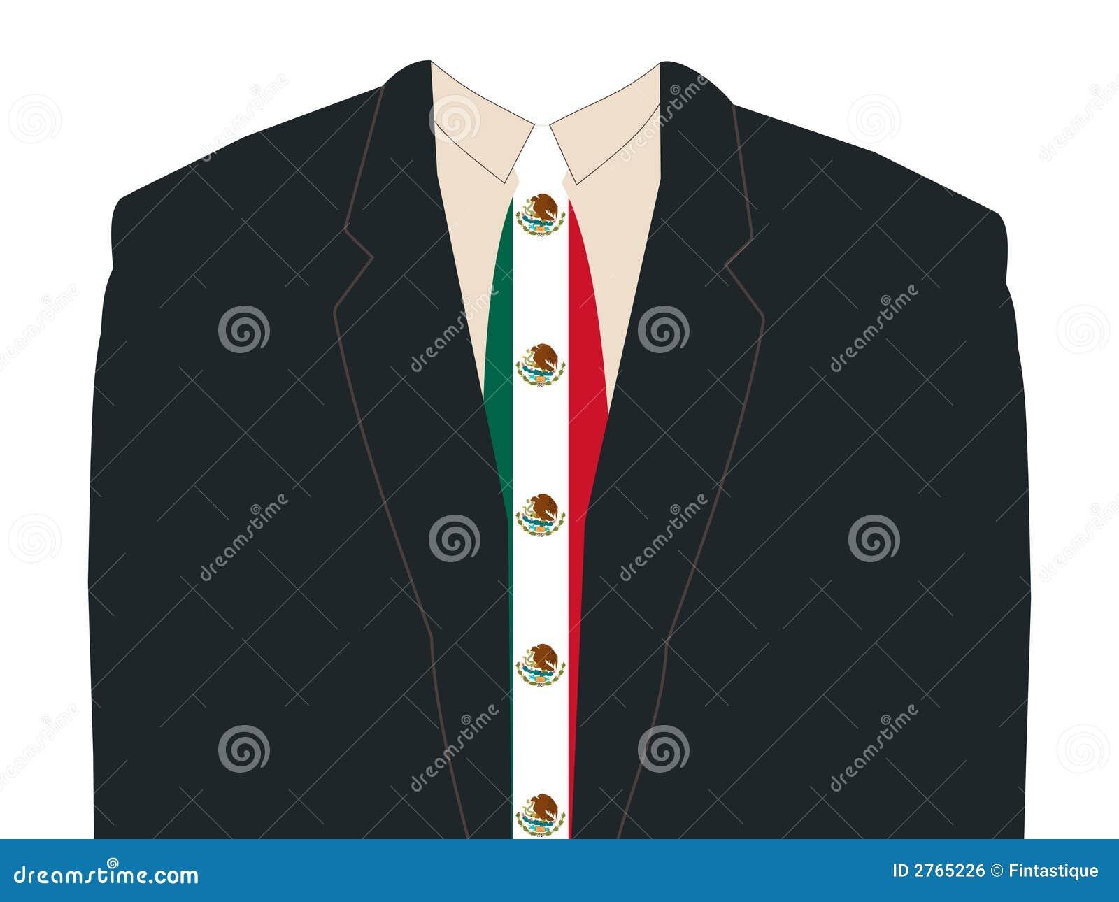 Mexikansk tie för flaggaman