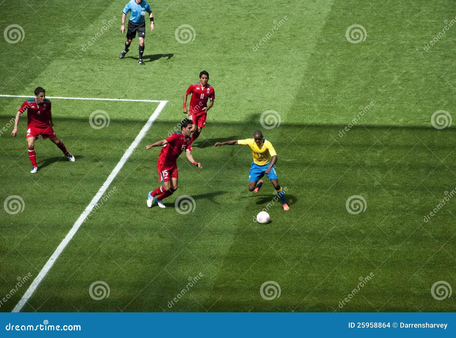 Mexiko gegen Gabun in den Londonolympics 2012