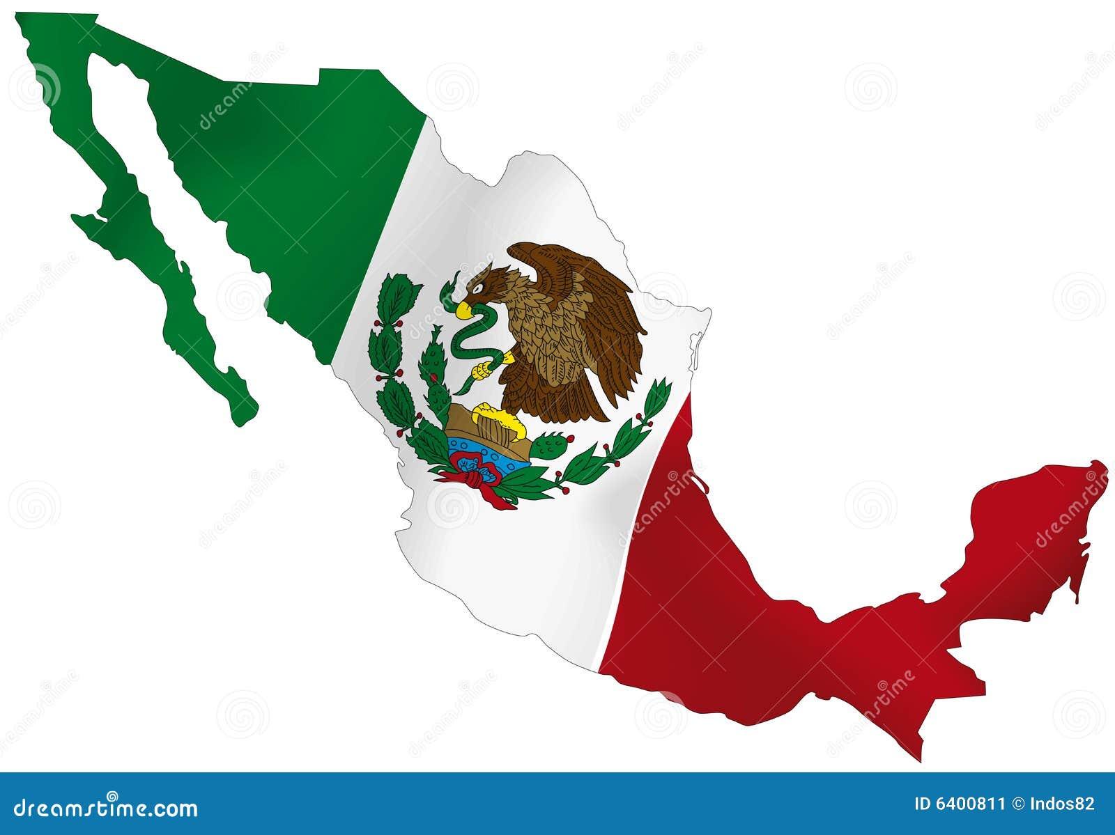 Schön Farben Auf Mexikanischer Flagge Bilder - Beispiel Business ...