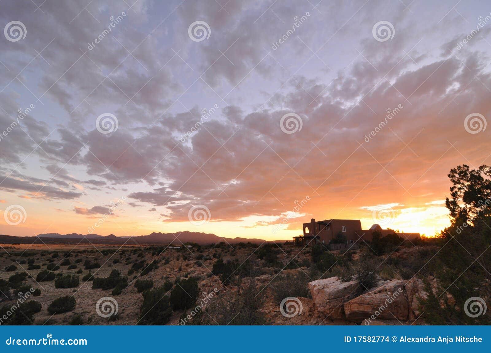 Mexiko-Sonnenuntergang