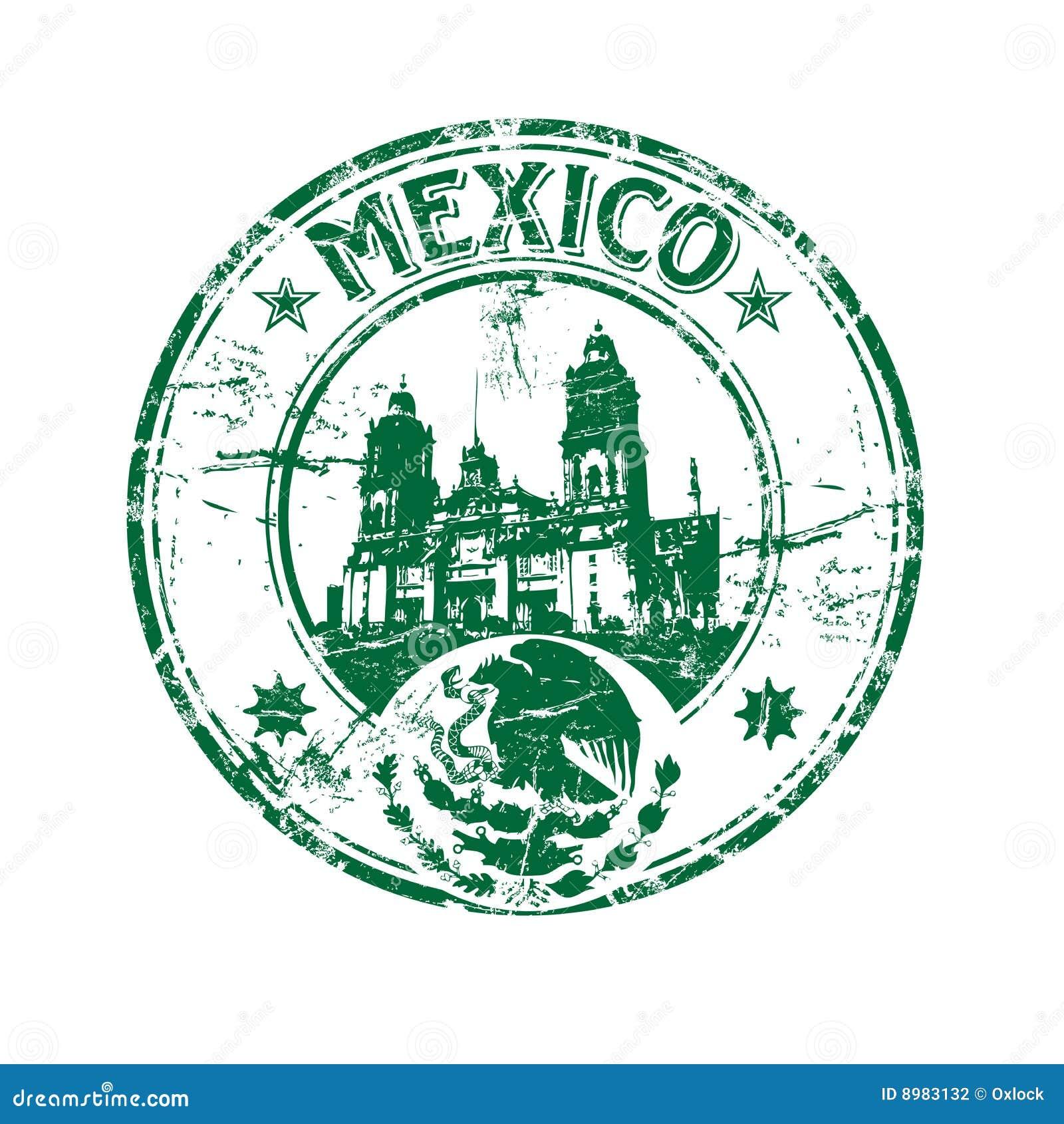Mexiko-Stempel