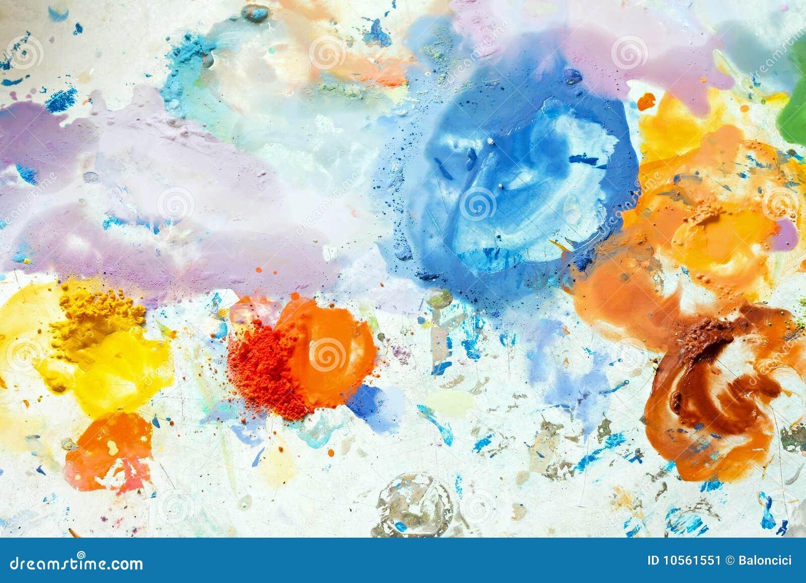 Mezcla colorida