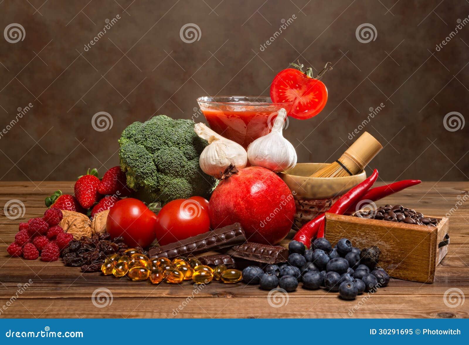 Productos de los antioxidantes