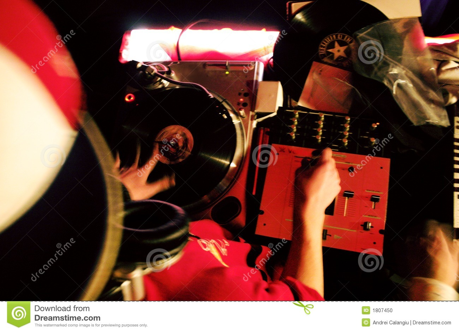 Mezcla de DJ