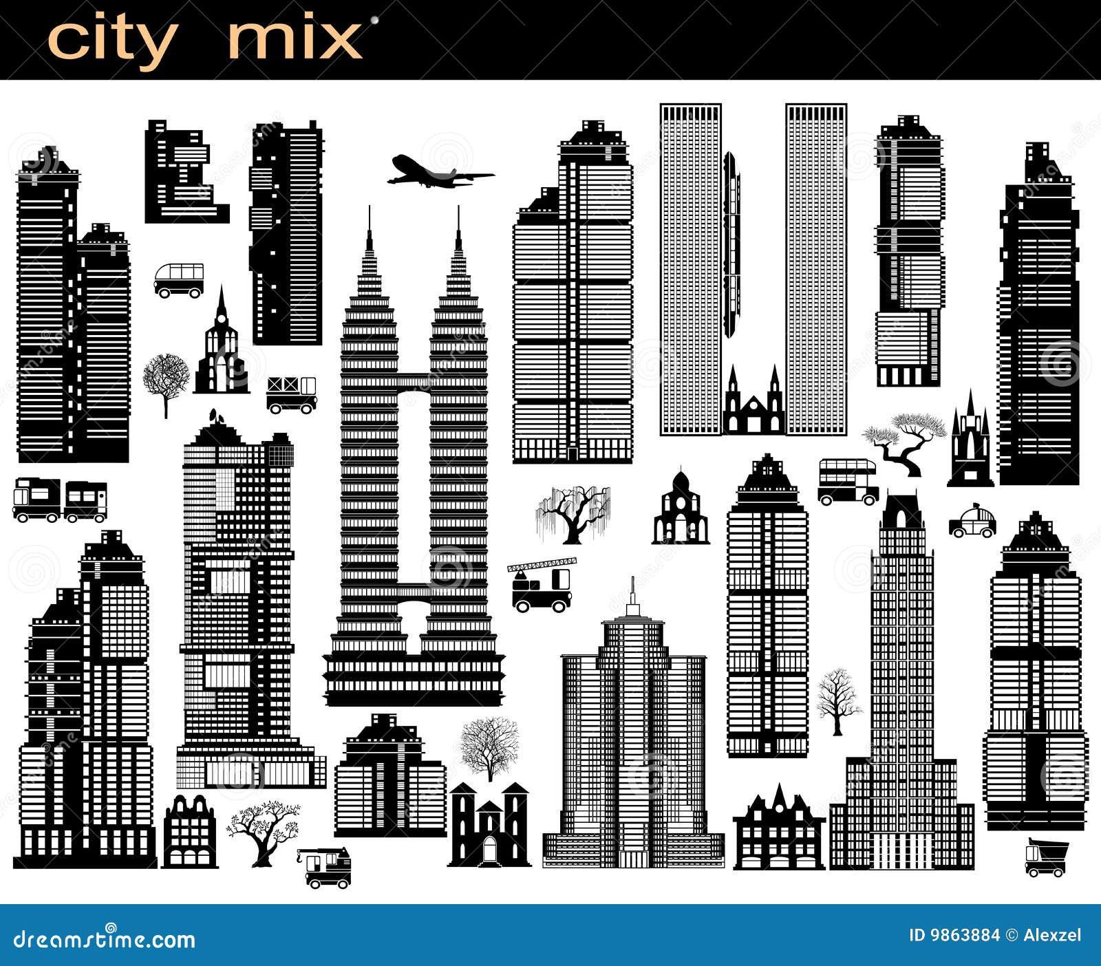 Mezcla de la ciudad