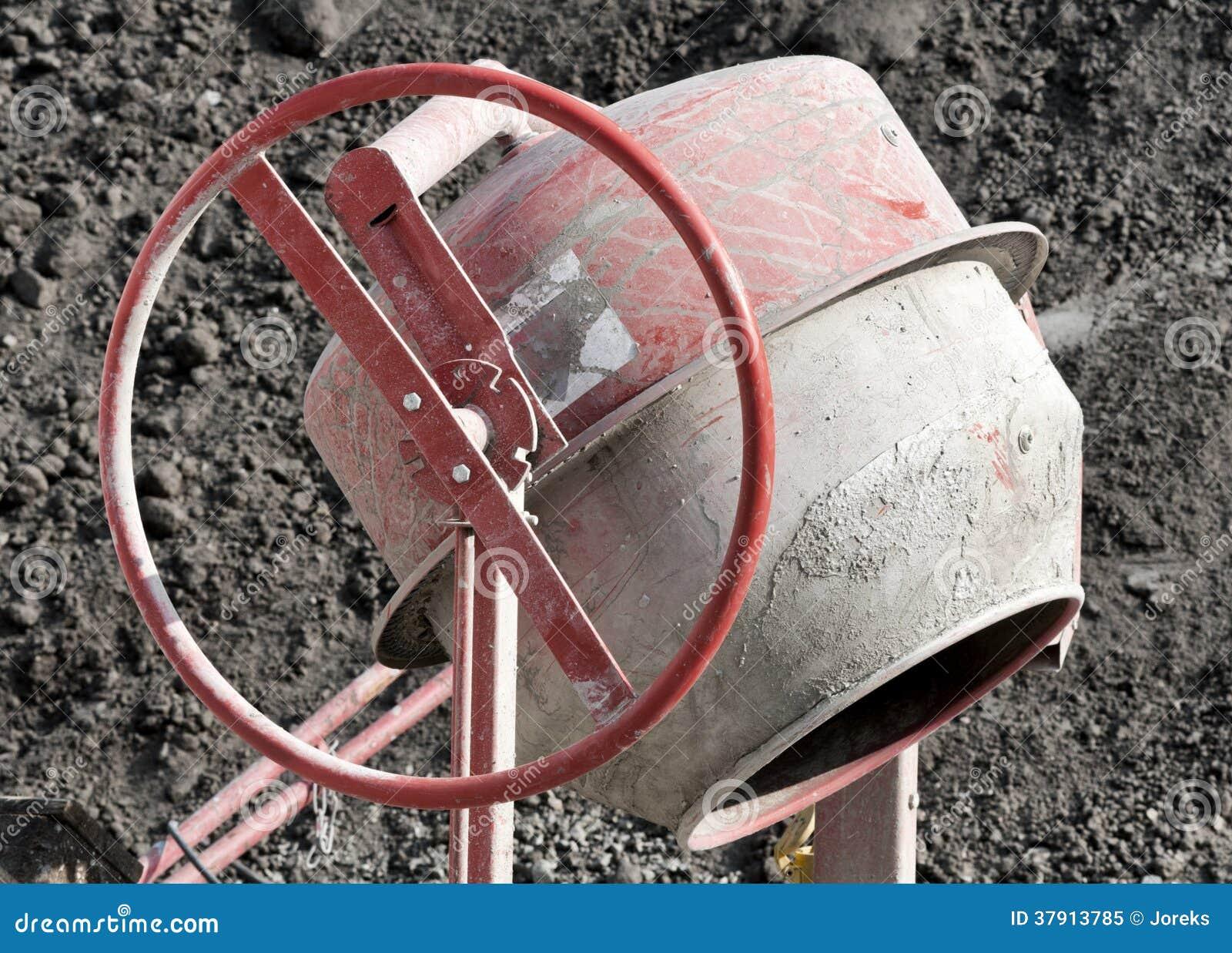 Mezclador de cemento
