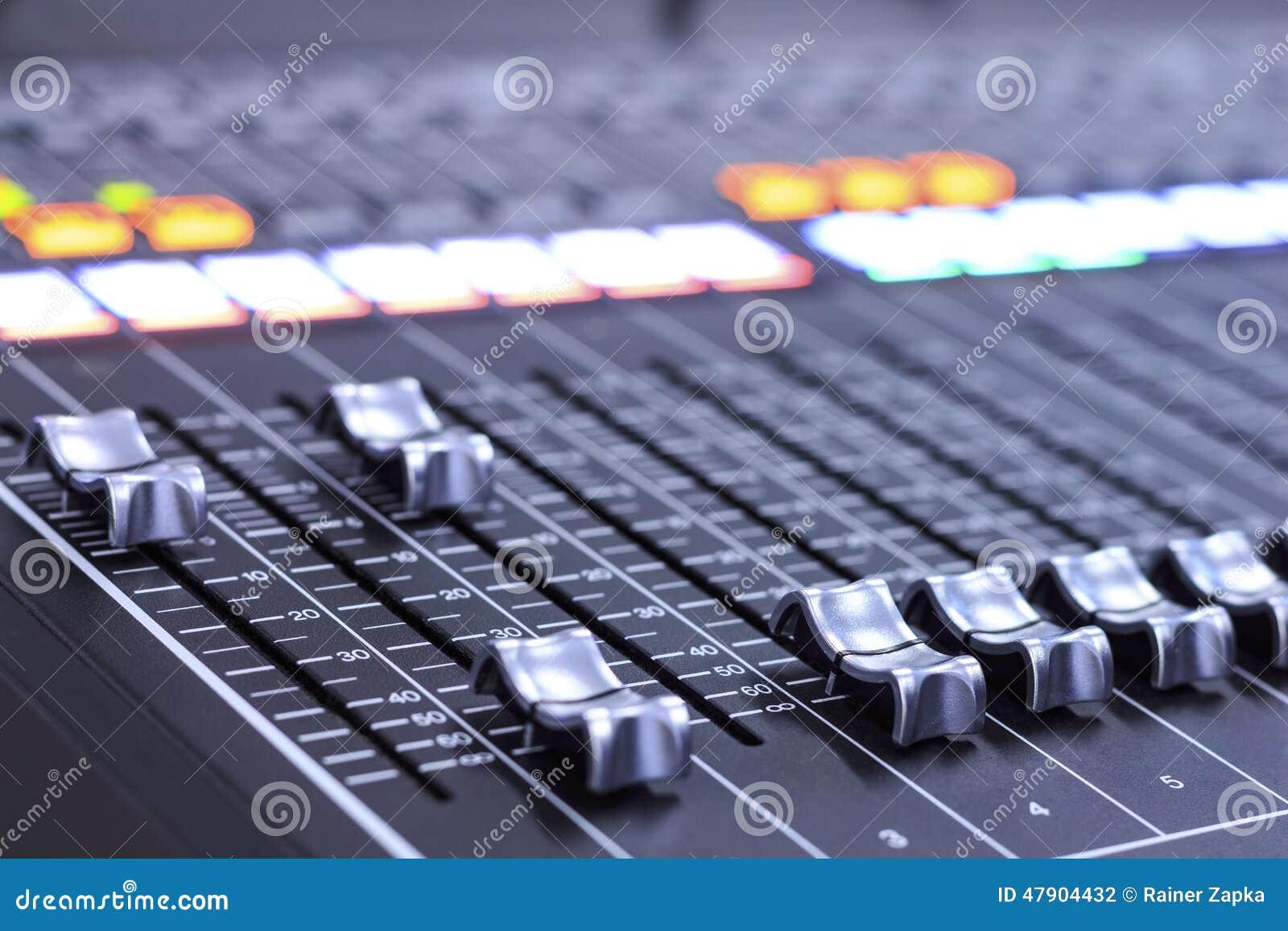 Mezclador de sonidos