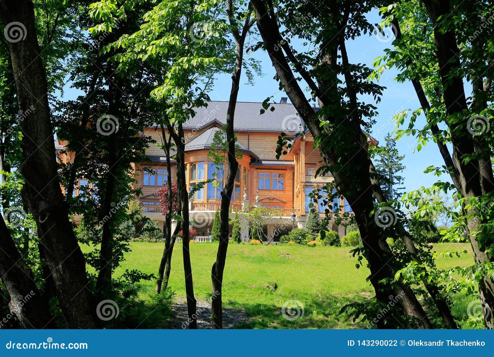 The Mezhyhirya Residence near the Kyiv, Ukraine