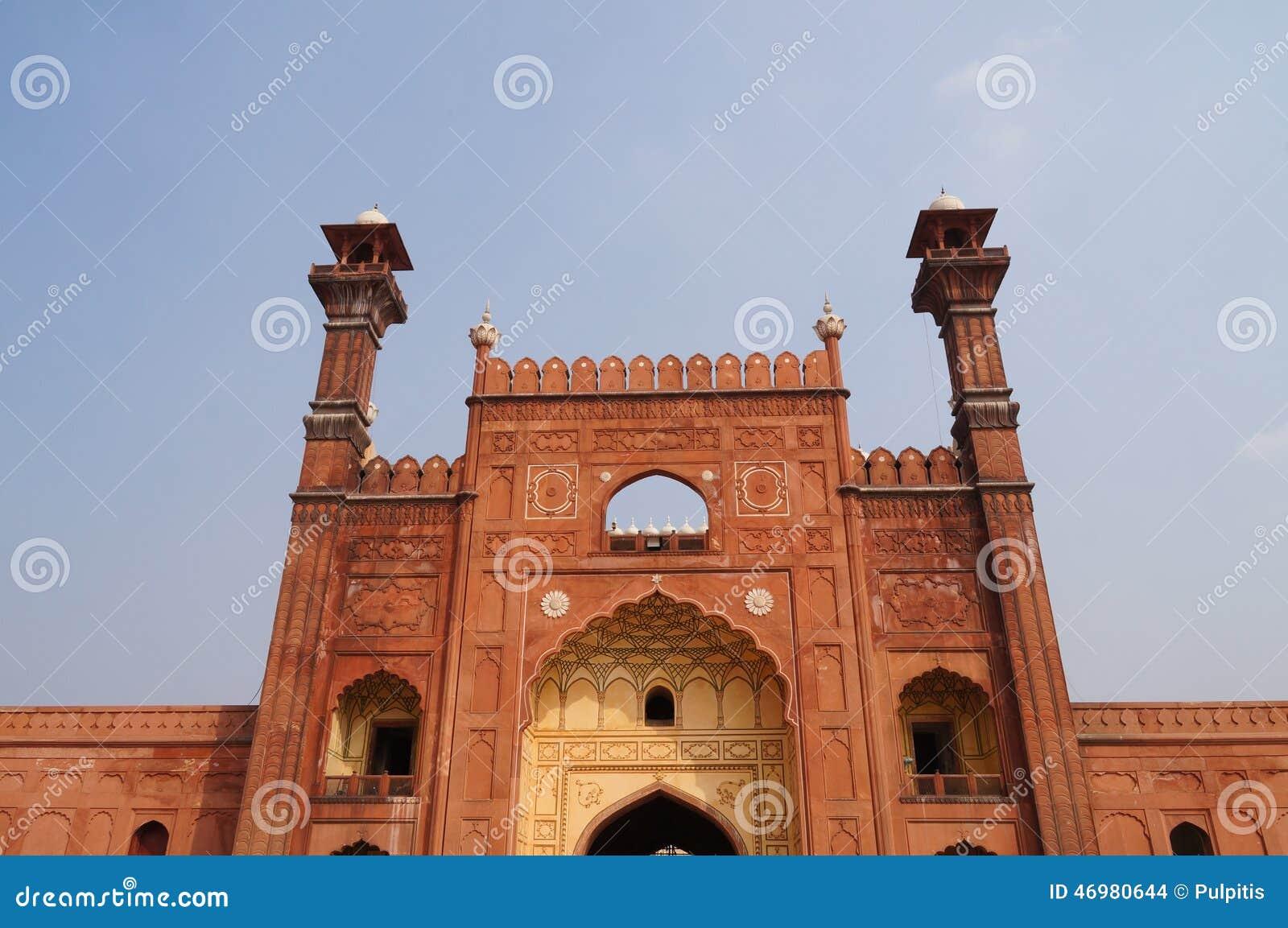 Mezquita de Badshahi en Lahore, Paquistán