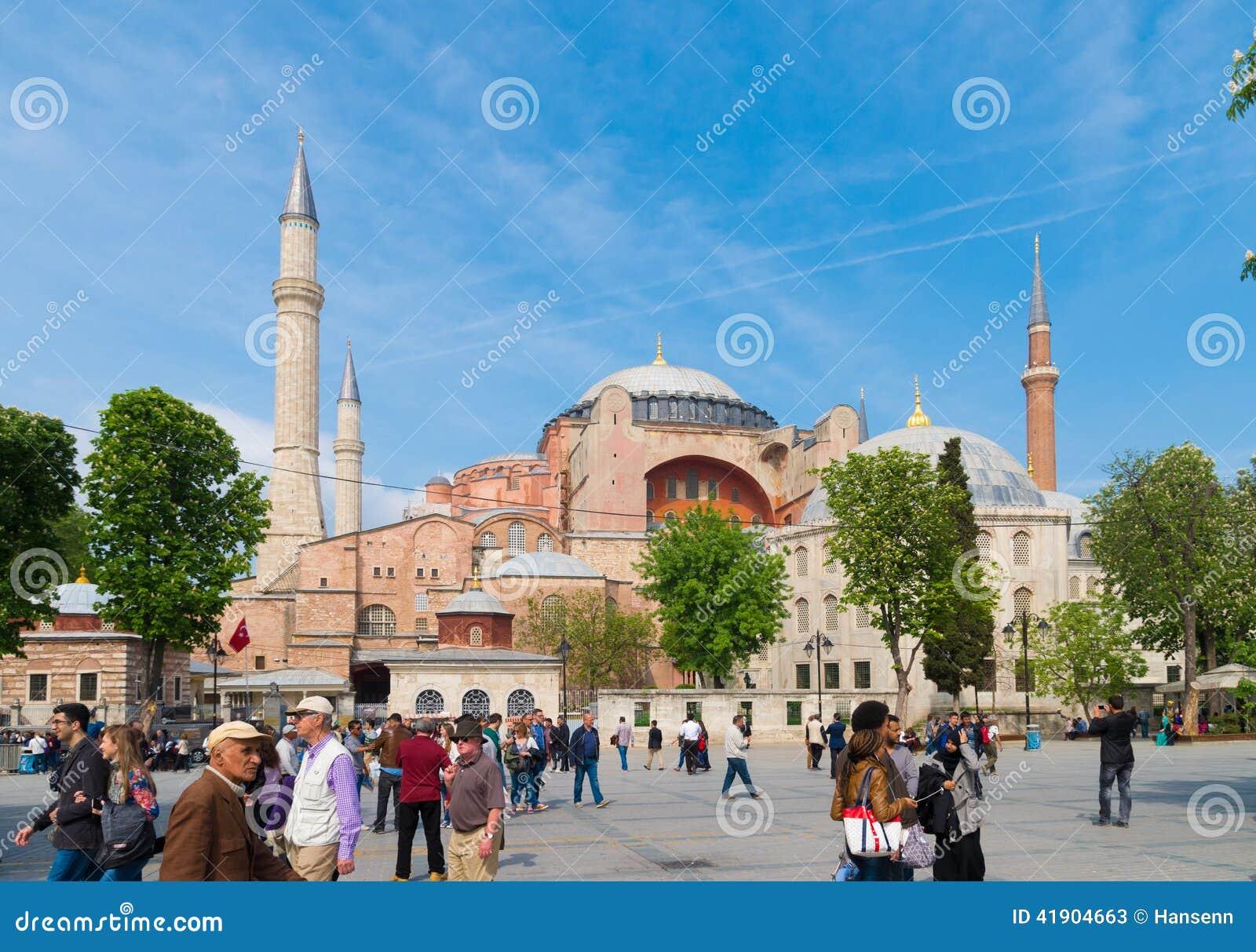 Mezquita de Hagia Sophia en Estambul