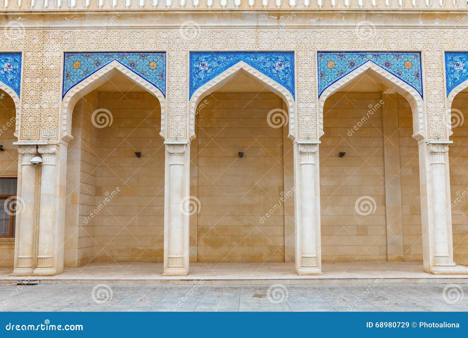Mezquita de Juma, Samaxi Cume Mescidi, en Shamakhi, Azerbaijan
