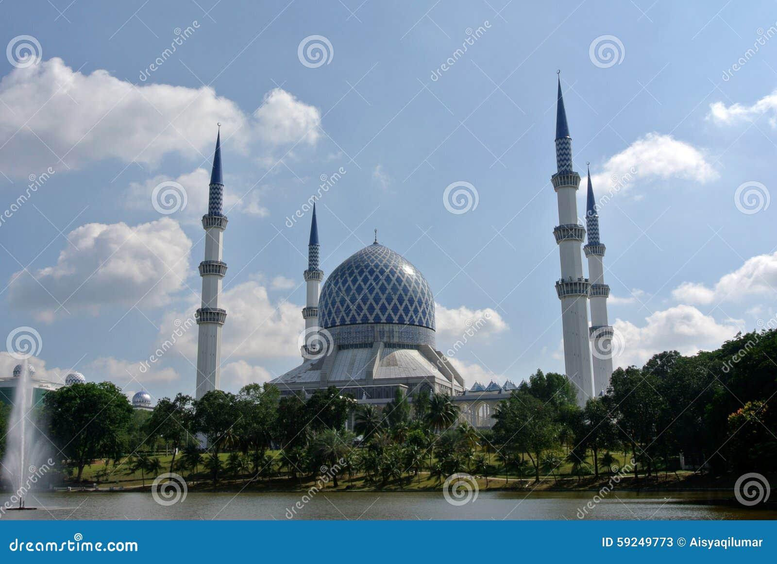 Mezquita a de Sultan Salahuddin Abdul Aziz Shah K un Sah Alam Mosque
