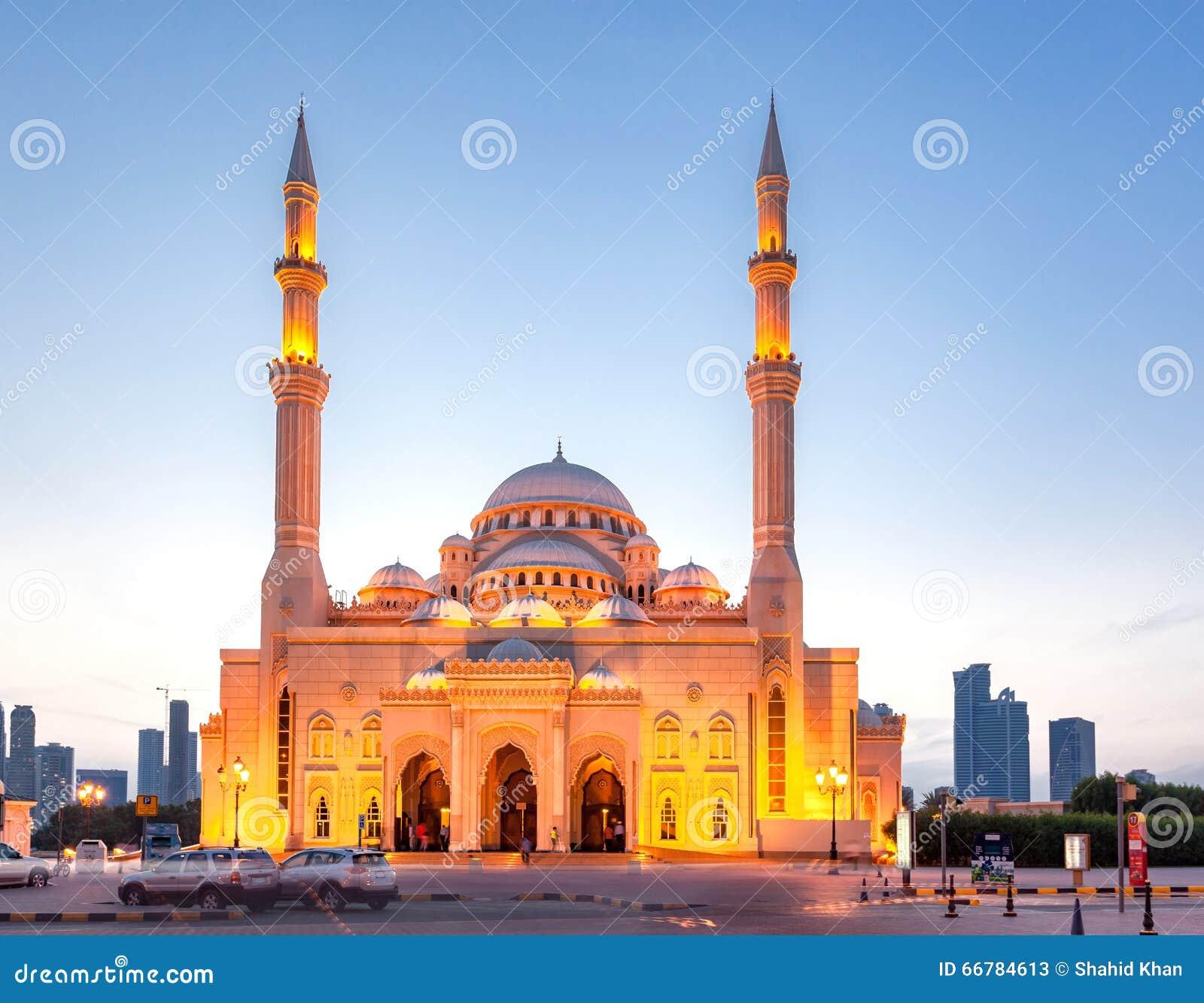 Mezquita del al-Noor, Sharja, UAE