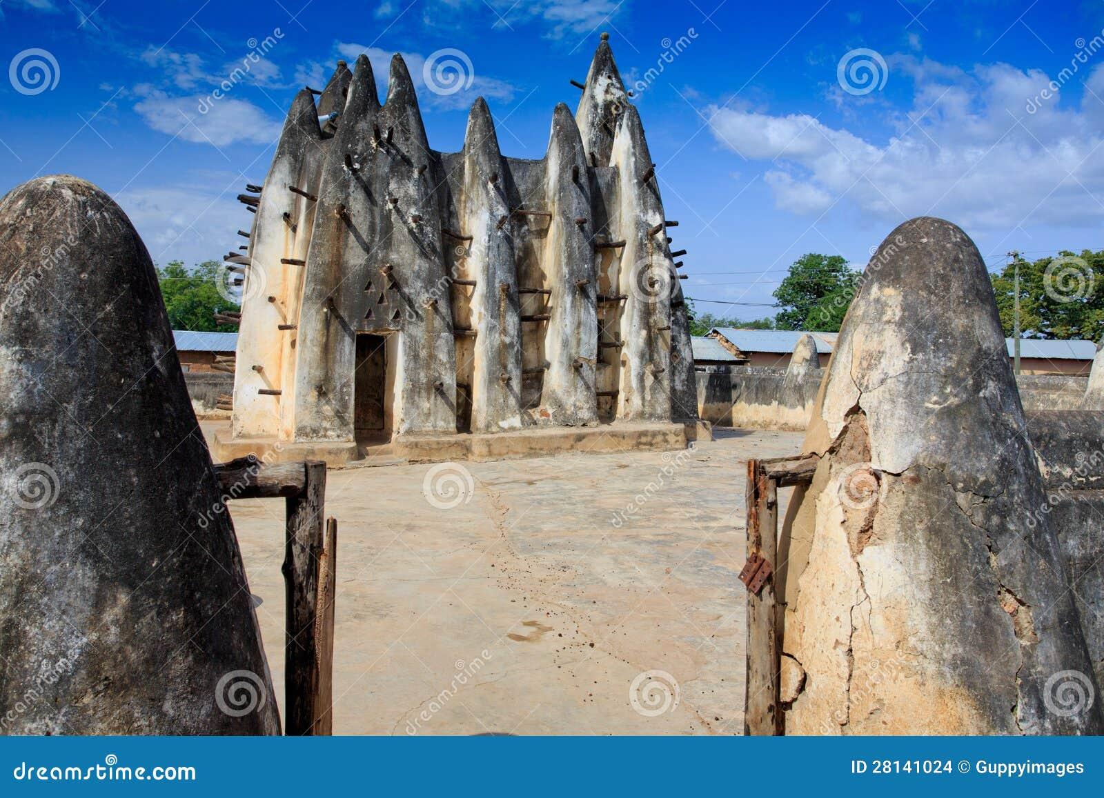 Mezquita del fango y del palillo