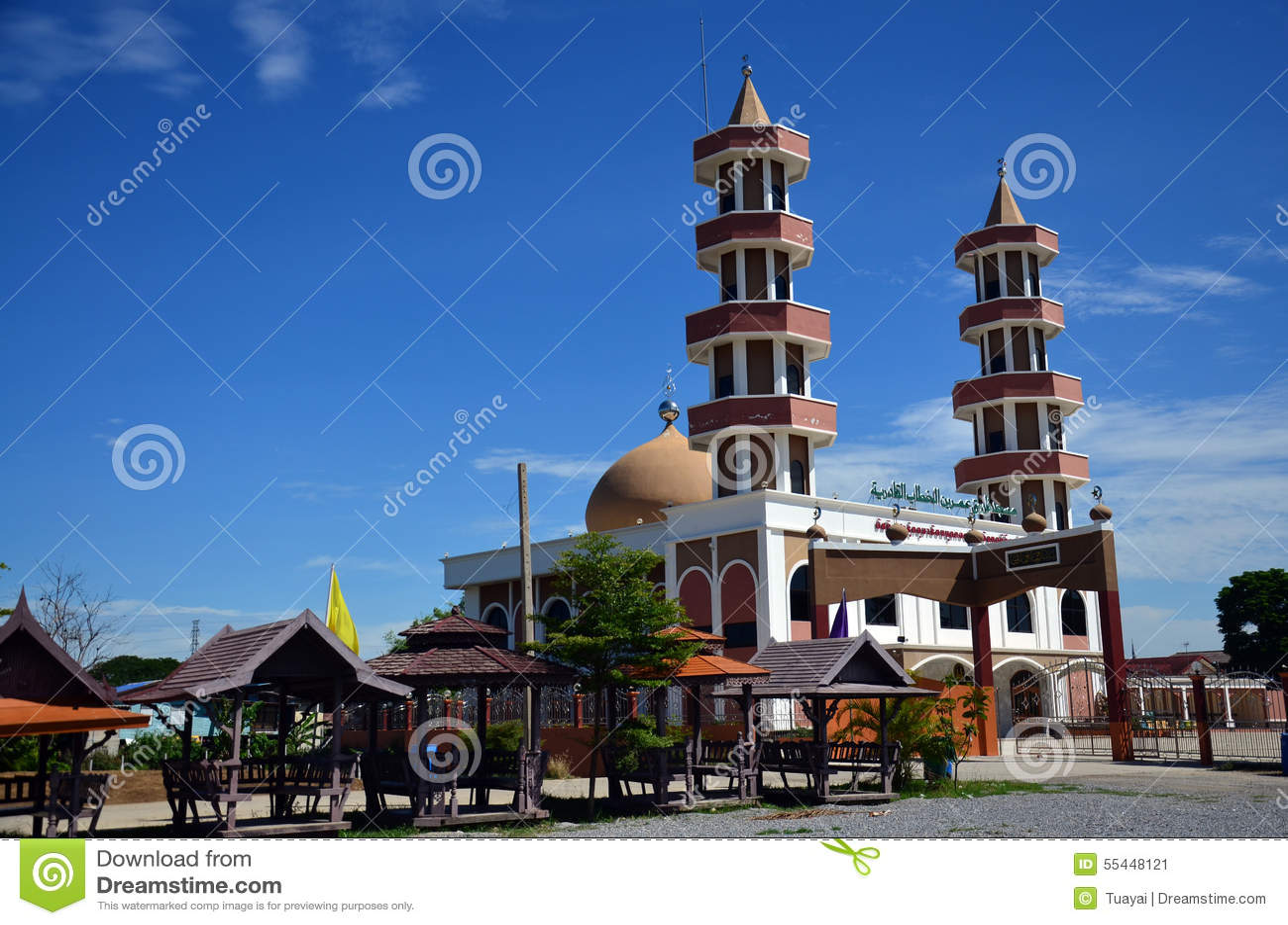 Mezquita en Tailandia