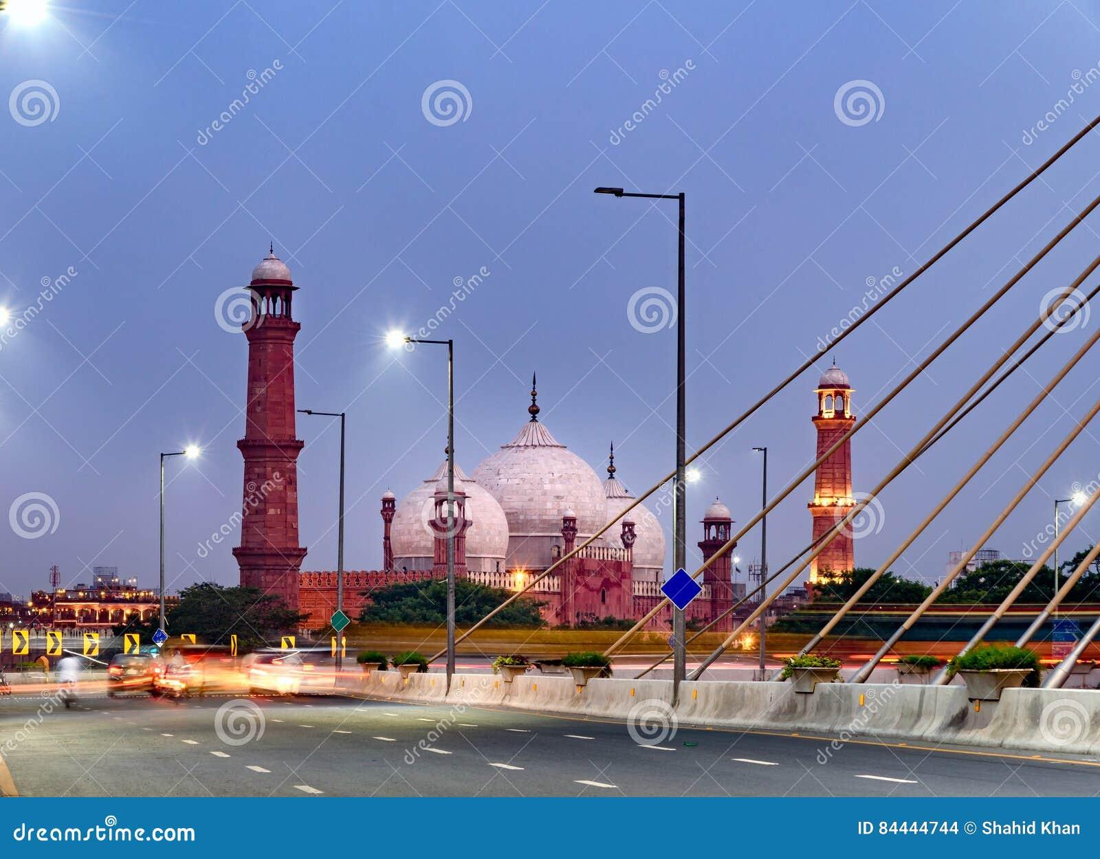Mezquita Lahore Paquistán de Badshahi