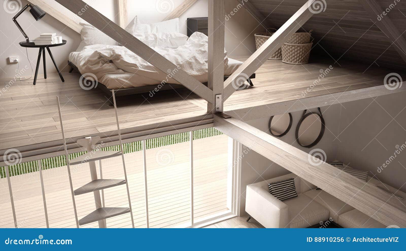 Slaapkamer Bank Maken : Mezzanine zolder slaapkamer treden en het leven met