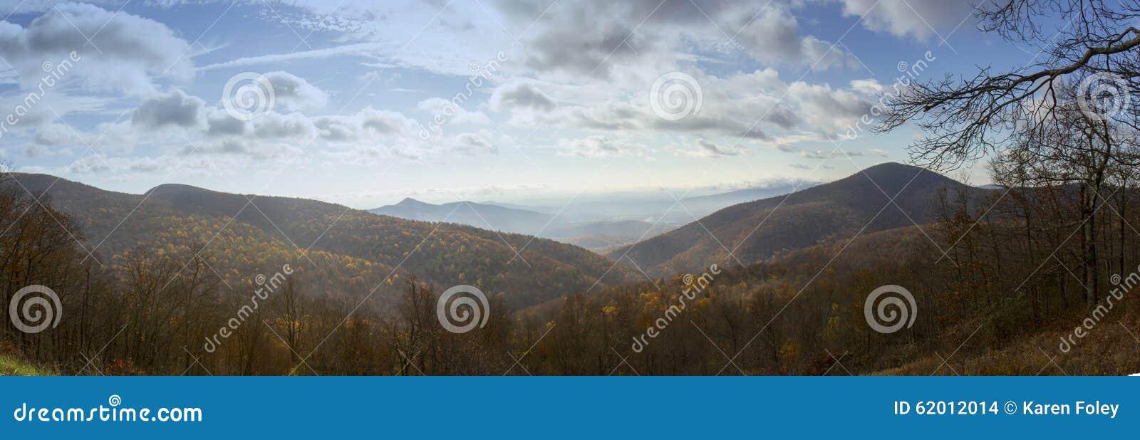 Mgła nad Shenandoah doliną