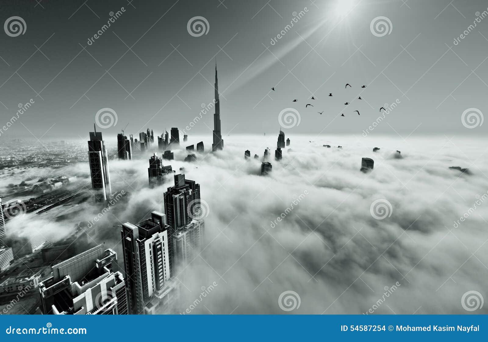 Mgła w Dubaj