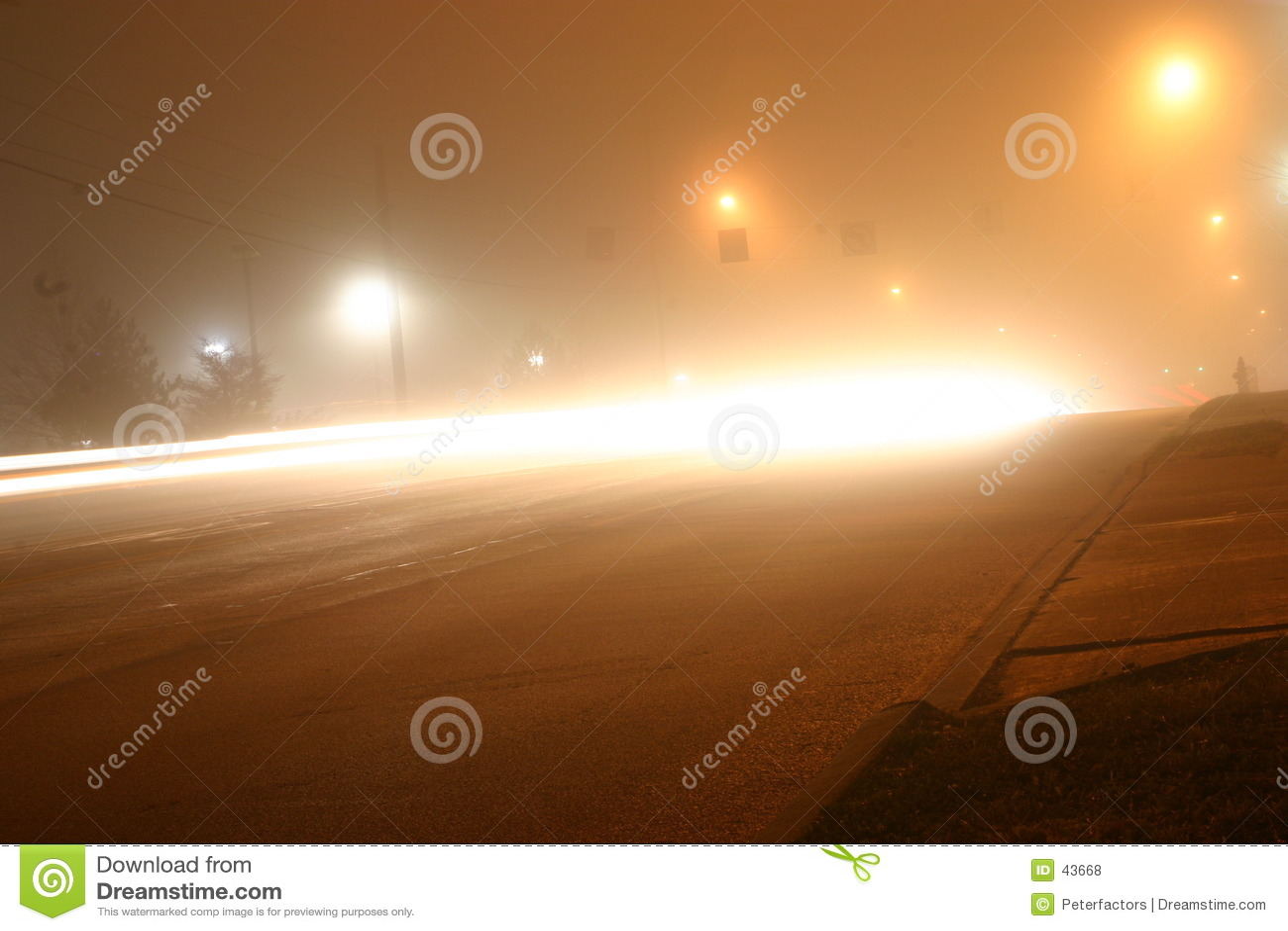 Mgłowa noc