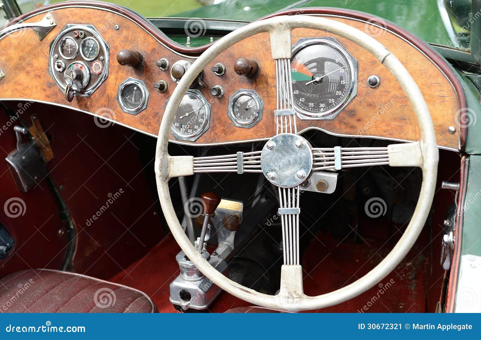mg classic sports car stock image image 30672321. Black Bedroom Furniture Sets. Home Design Ideas