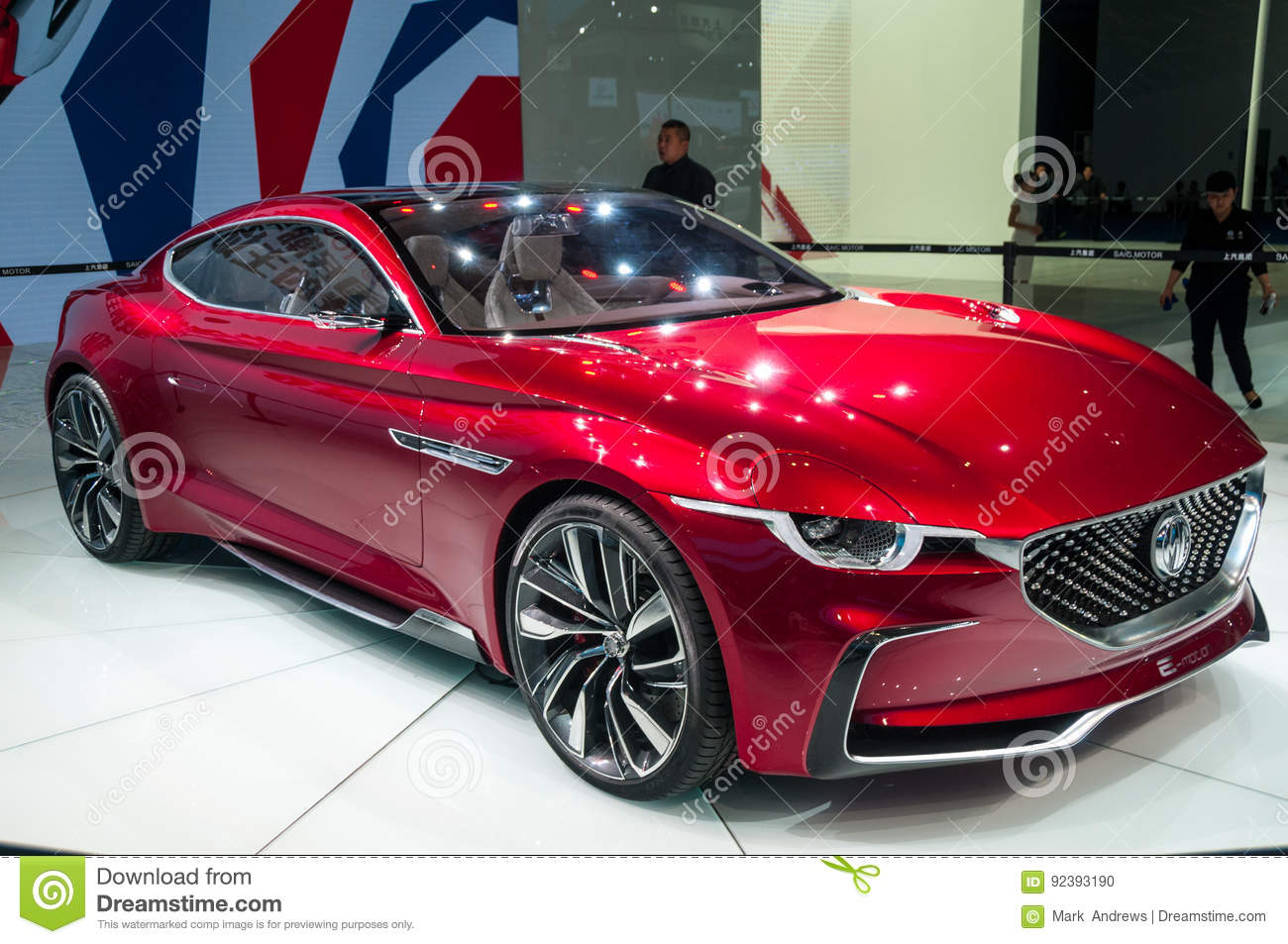 Mg e motion concept at the shanghai auto show editorial image image 92393190 - Shanghai auto show ...