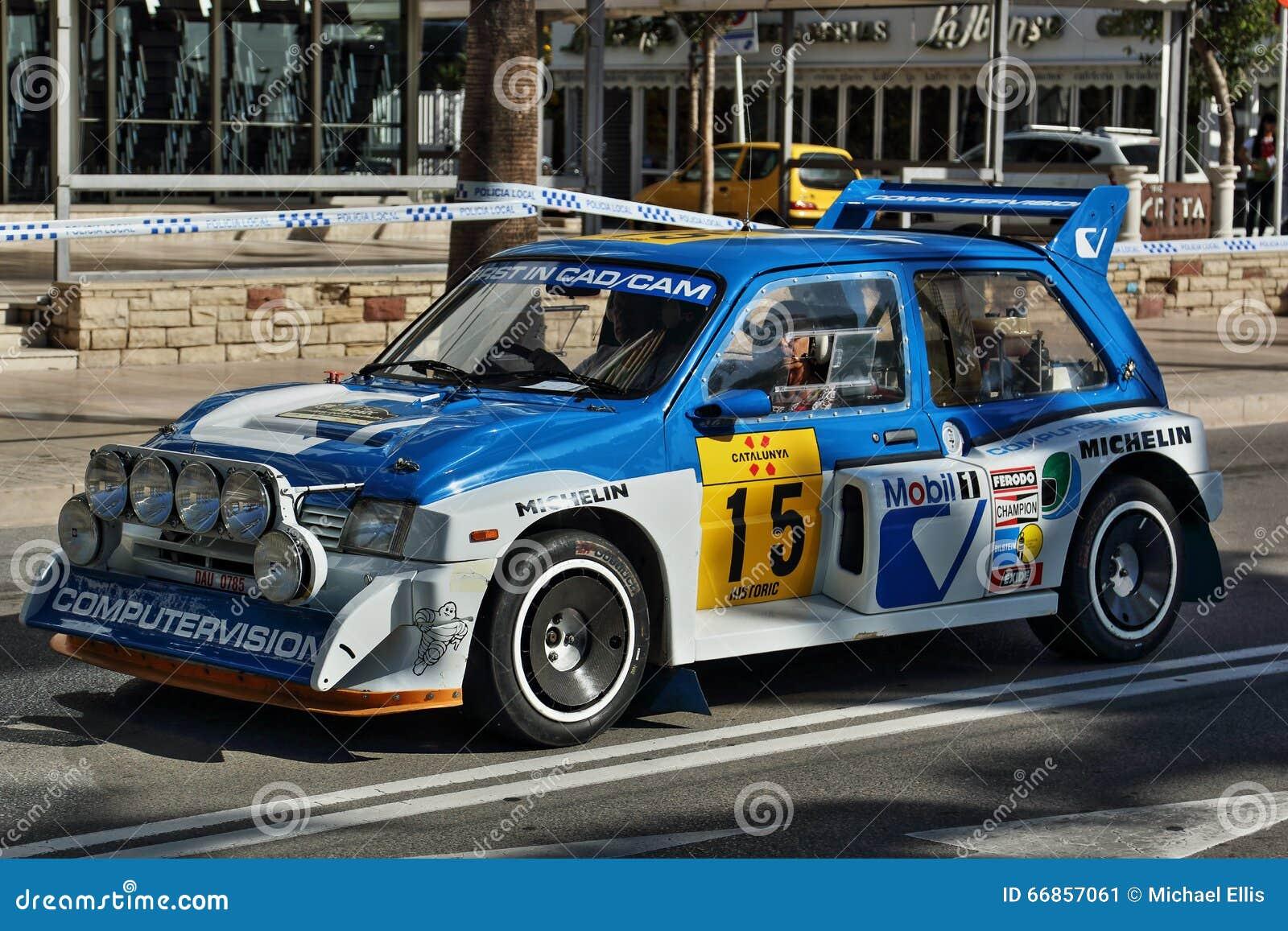 MG Metro 6R4 - WRC - 05 editorial photo. Image of championship ...