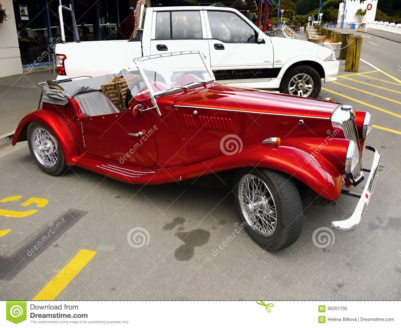 MG, Vintage Cars, Sports Cars Editorial Image - Image of automotive ...