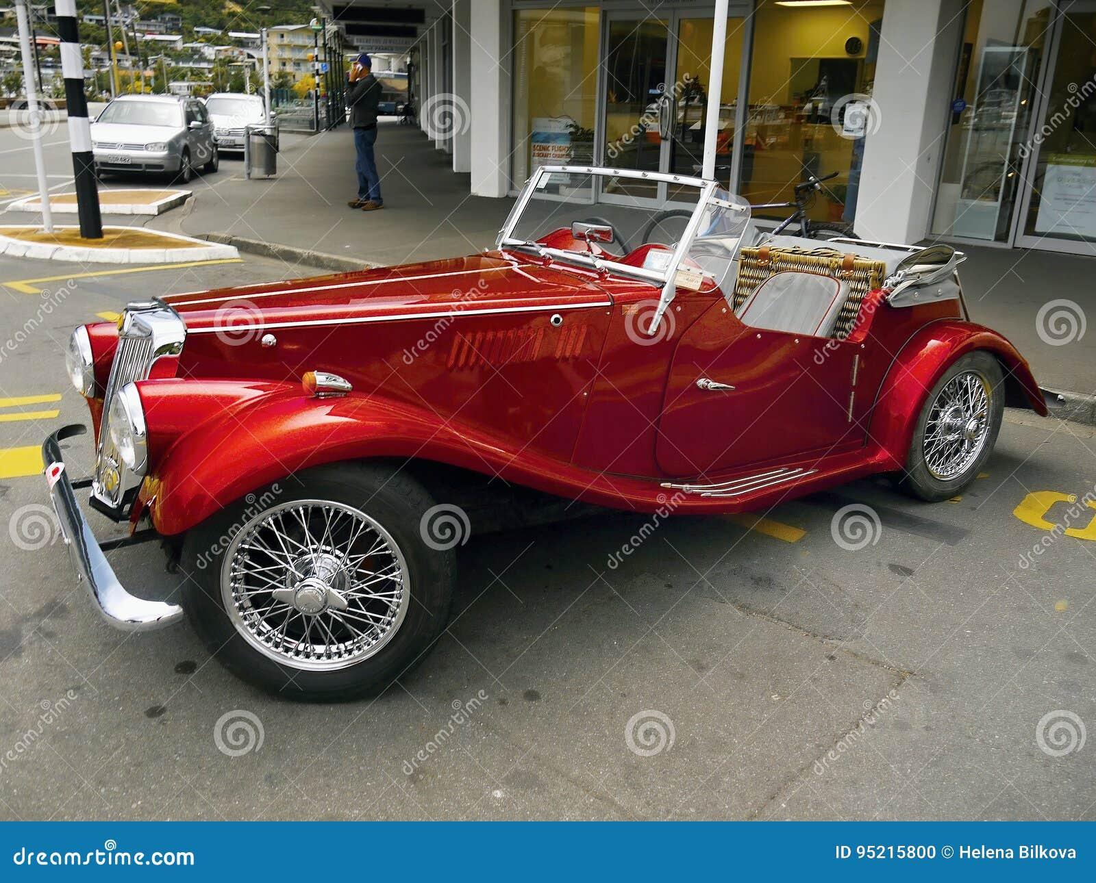 mg vintage cars sports cars editorial image image of retro cars 95215800. Black Bedroom Furniture Sets. Home Design Ideas