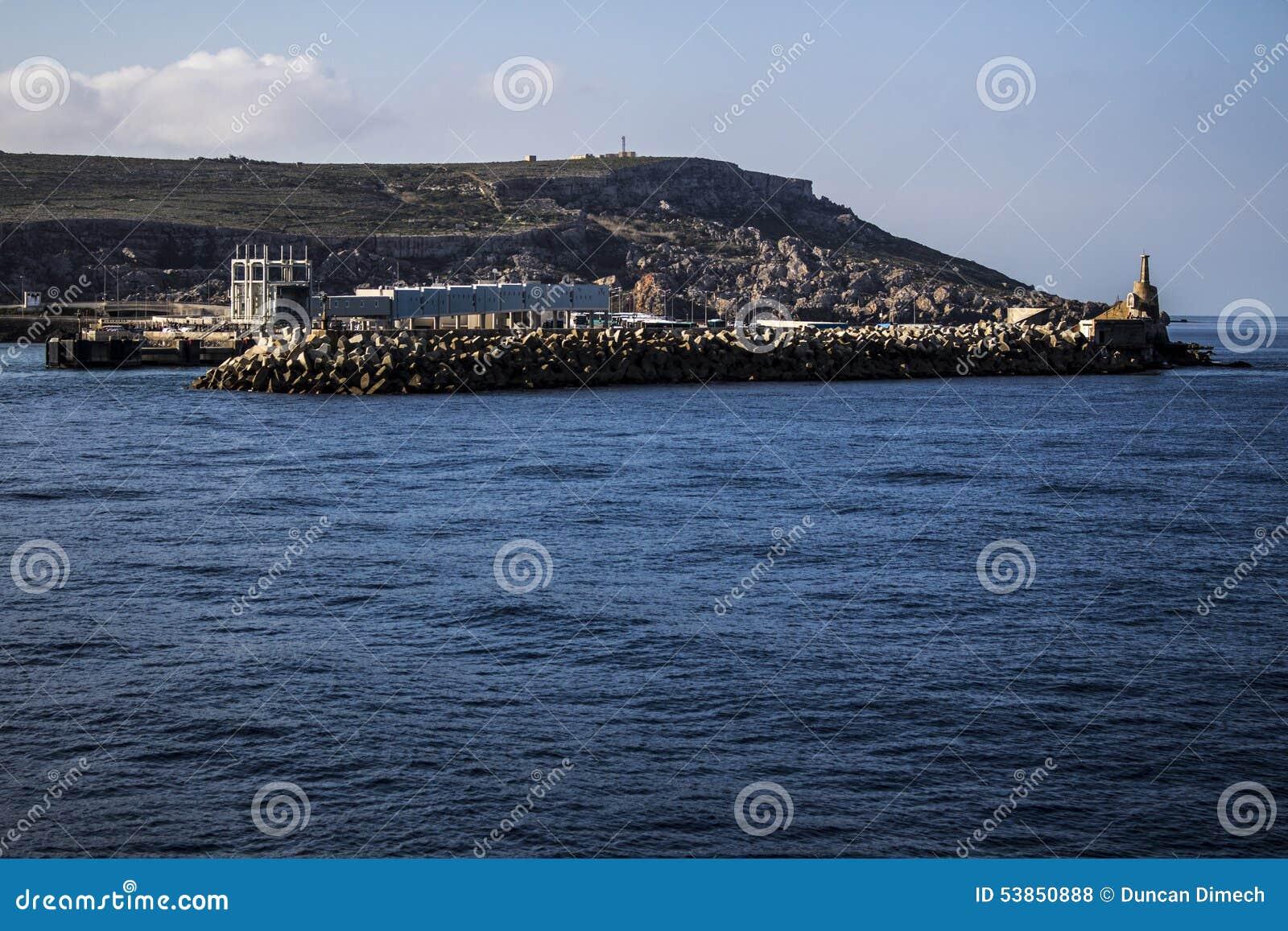 Mgarr Malta molo