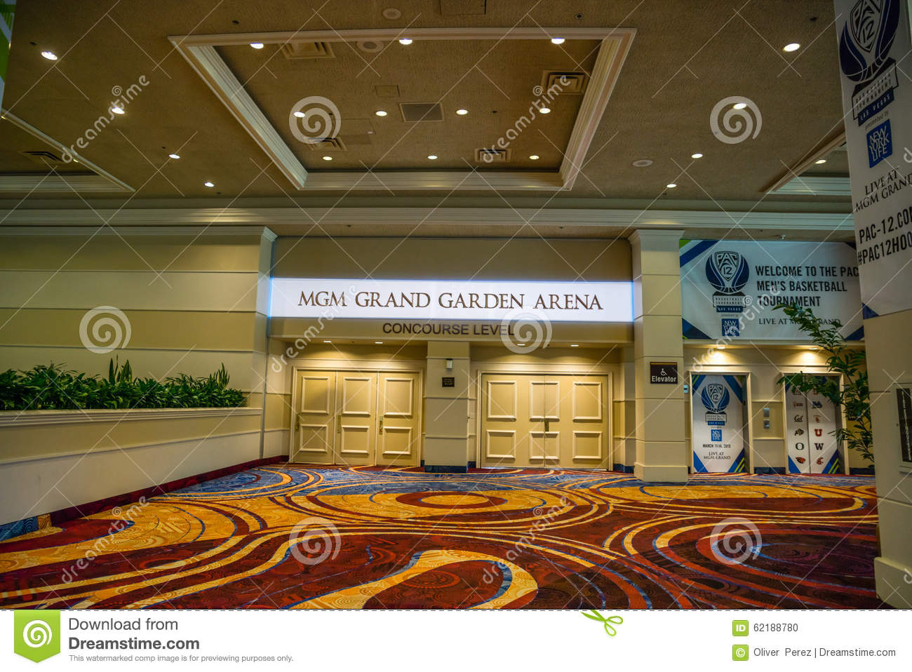 MGM Grand Garden Arena Is A Famous Event Venue In Las Vegas