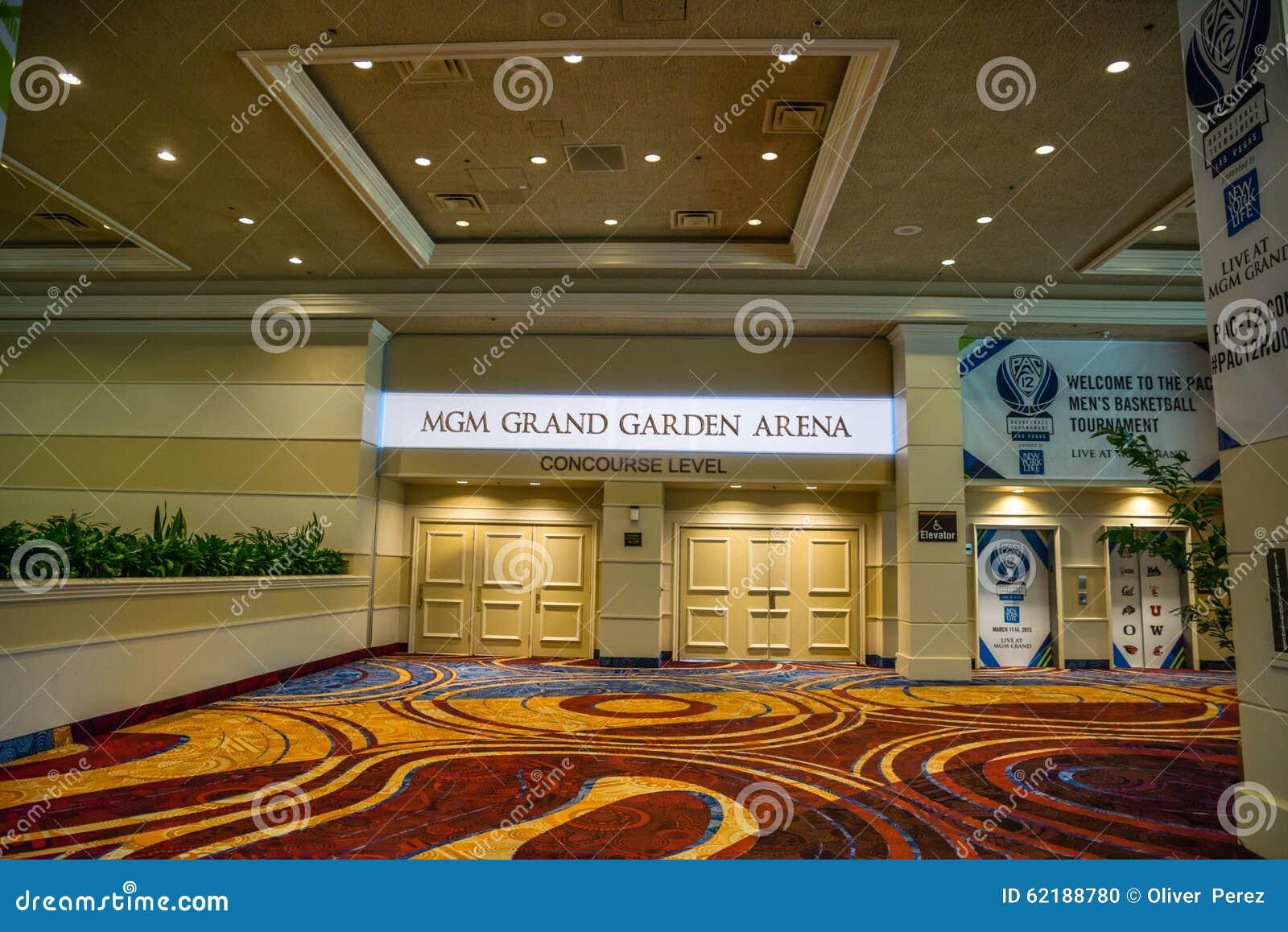 MGM Grand Garden Arena editorial image. Image of basketball - 62188780