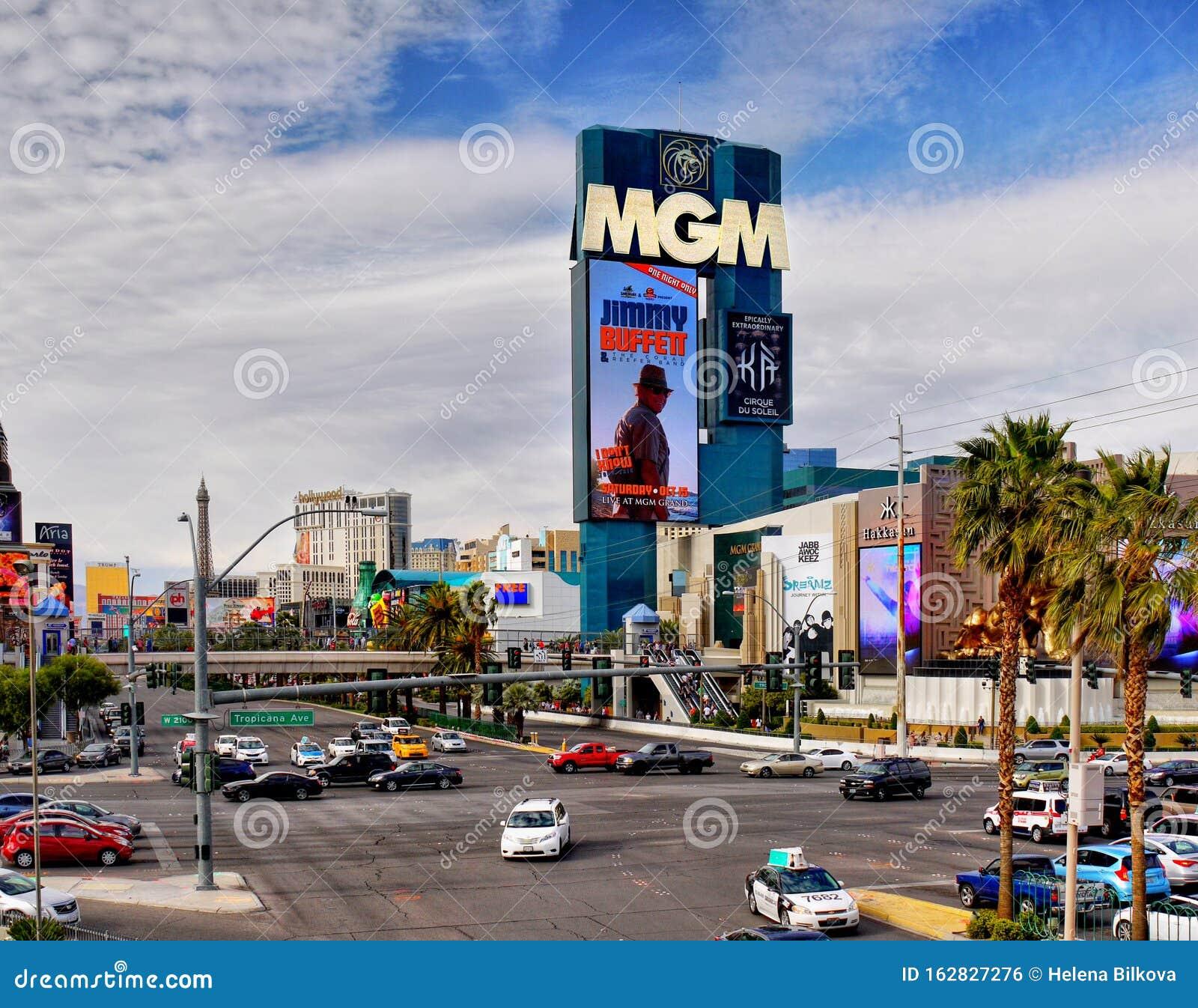 Mgm Grand Hotel Casino Las Vegas Strip Editorial Photo Image Of Strip Resort 162827276