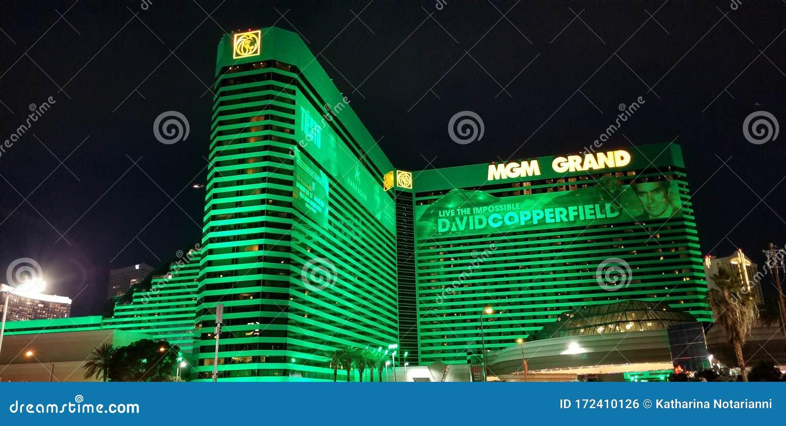 Mgm Grand Hotel In Las Vegas Nevada Editorial Photo Image Of David Logo 172410126