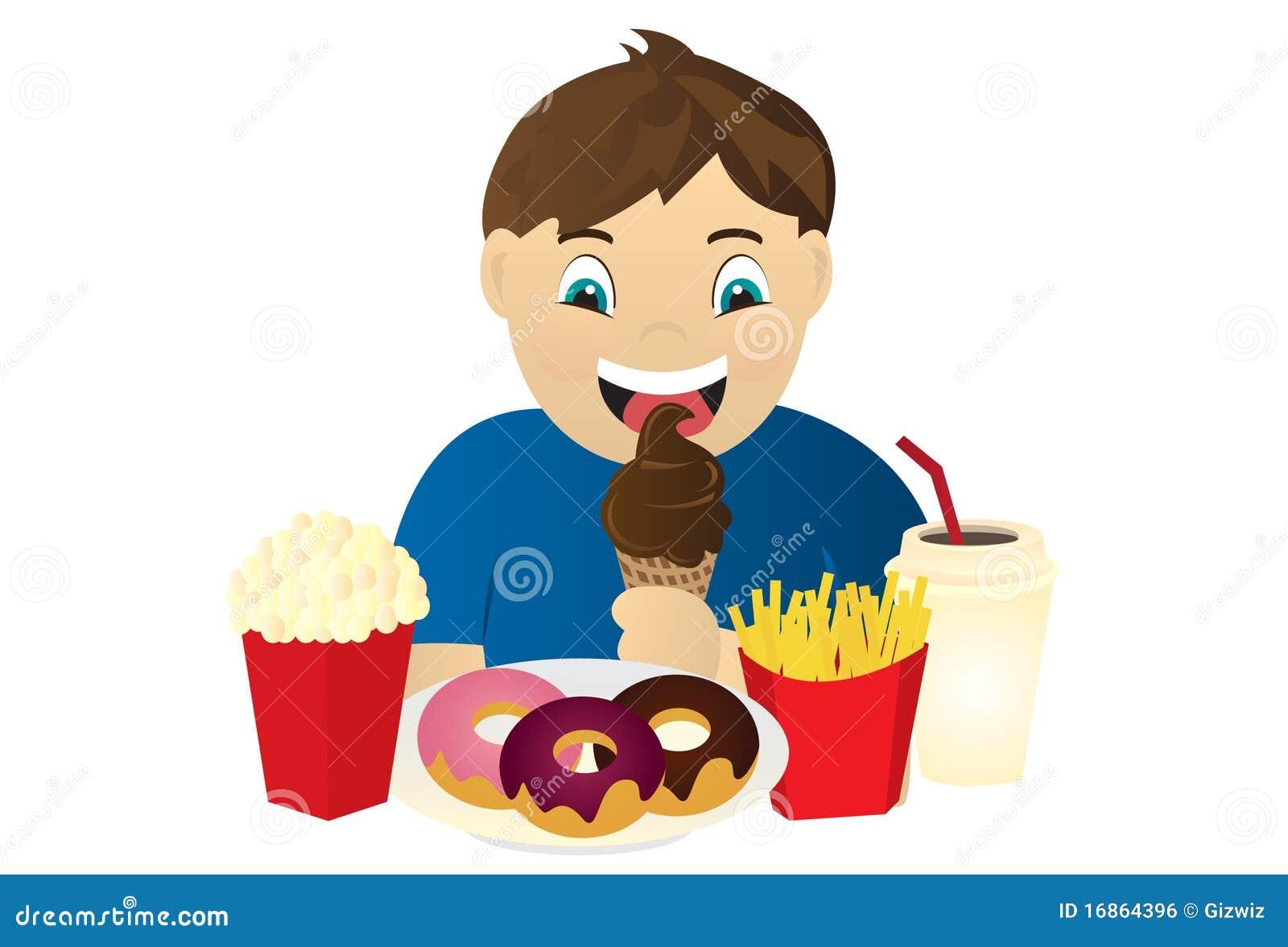 Miúdo com fome