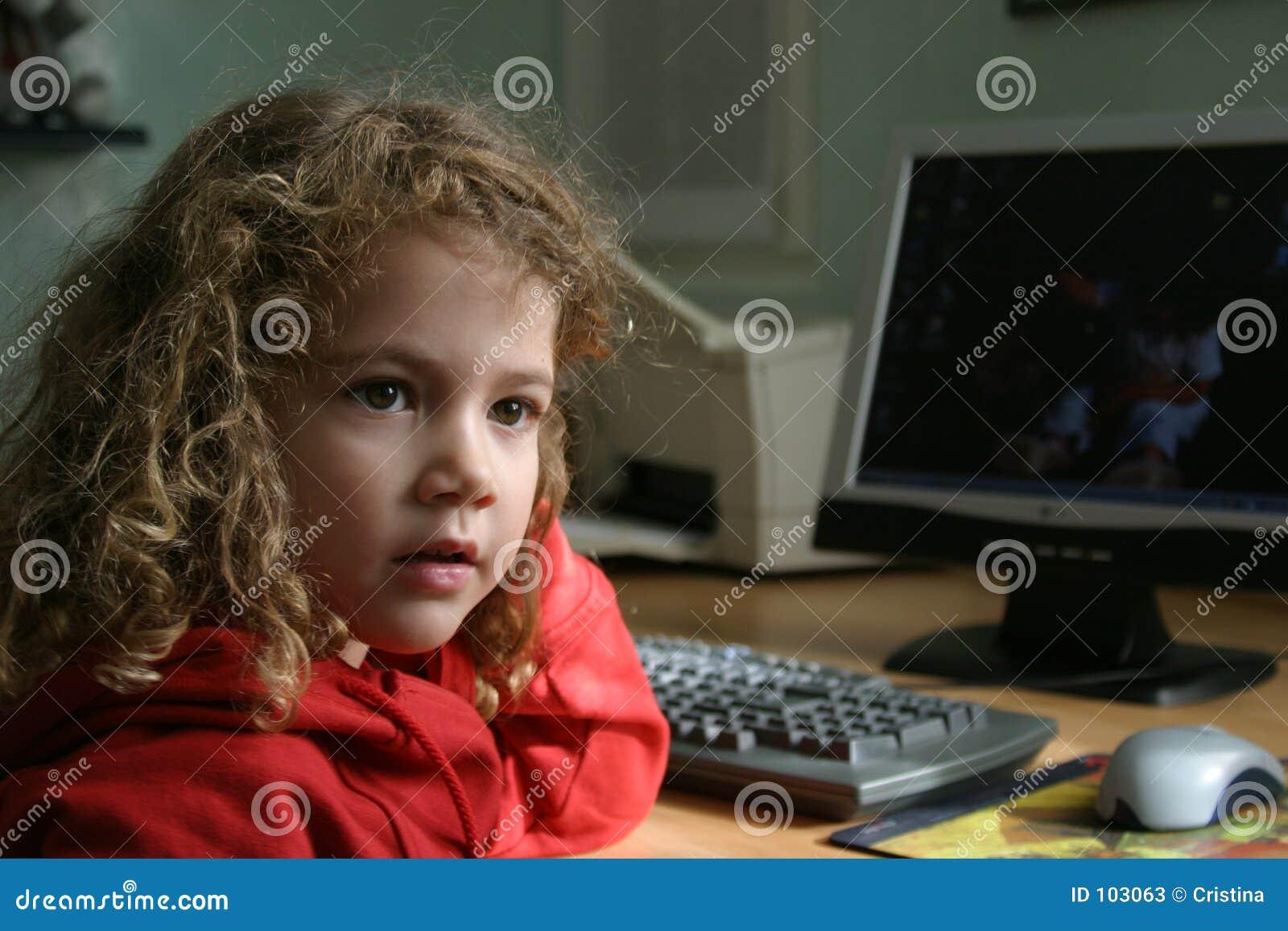 Miúdo do computador