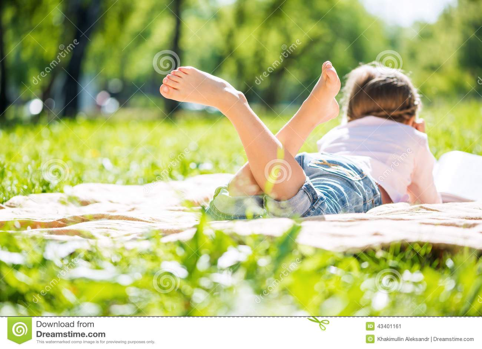 Miúdo no parque