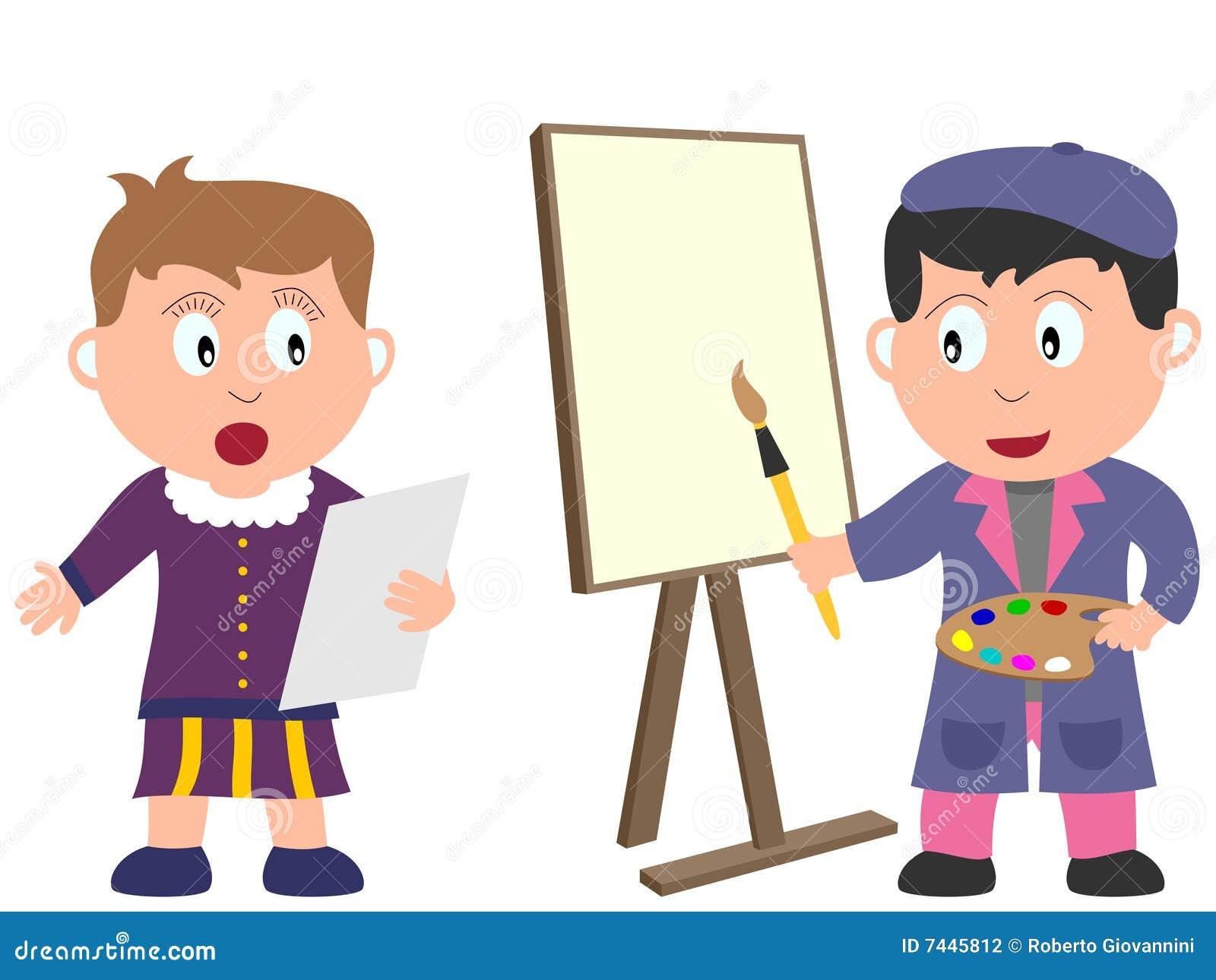 Miúdos e trabalhos - arte [2]