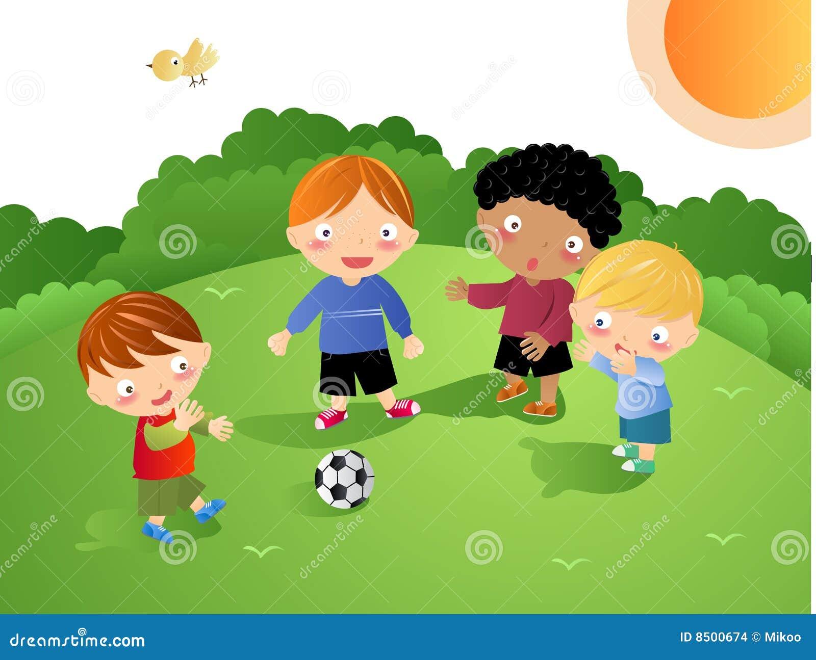 Miúdos que jogam - futebol