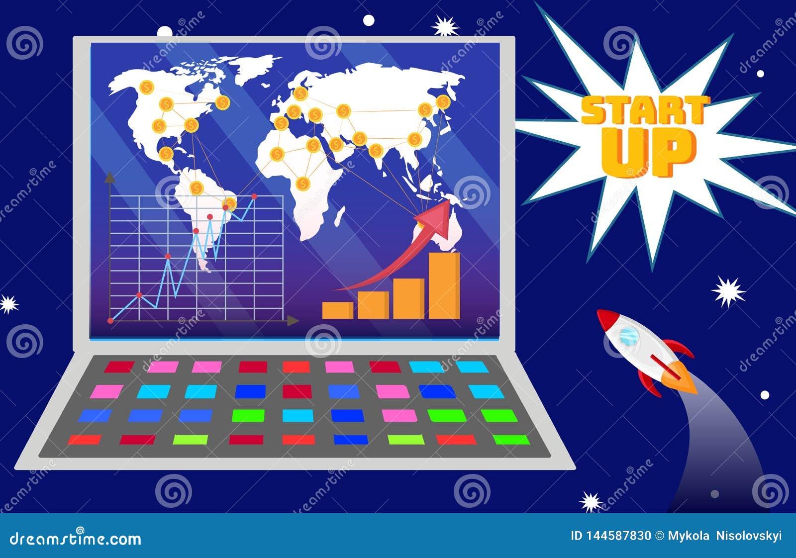 Międzynarodowa Początkowa plan rozwojowy ilustracja
