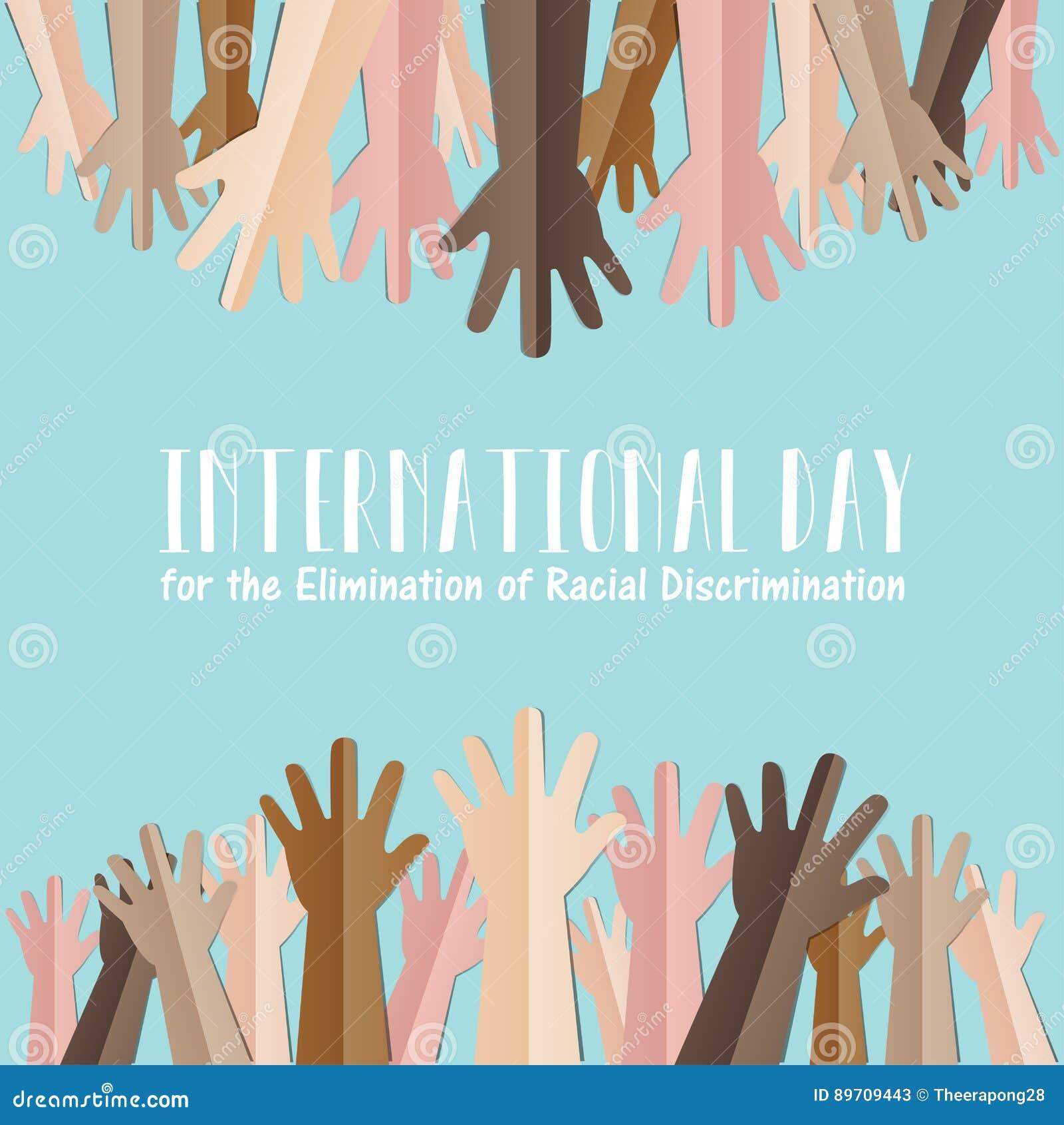 Międzynarodowy dzień dla eliminaci dyskryminacja rasowa