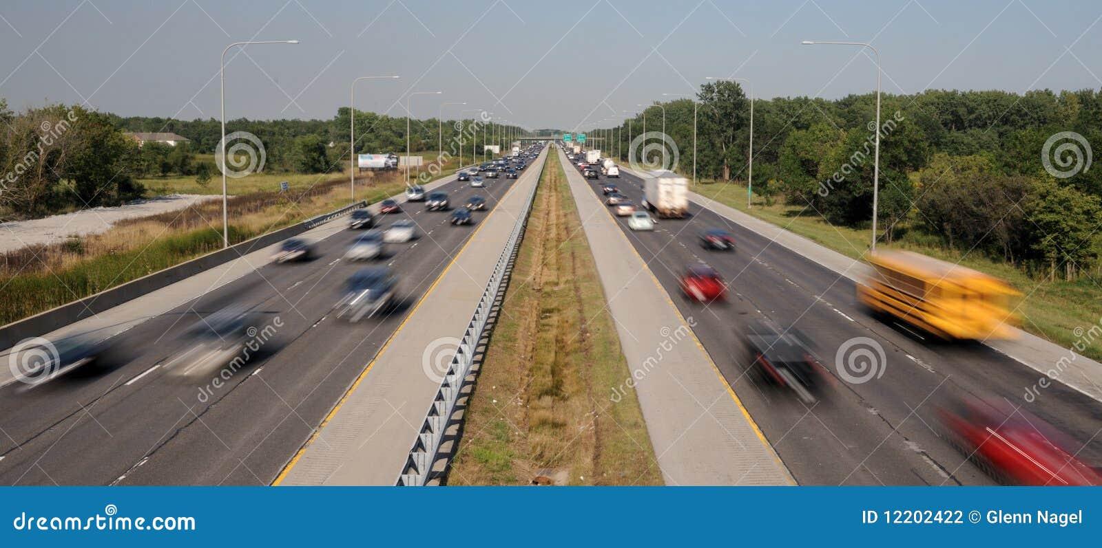 Międzystanowy ruch drogowy