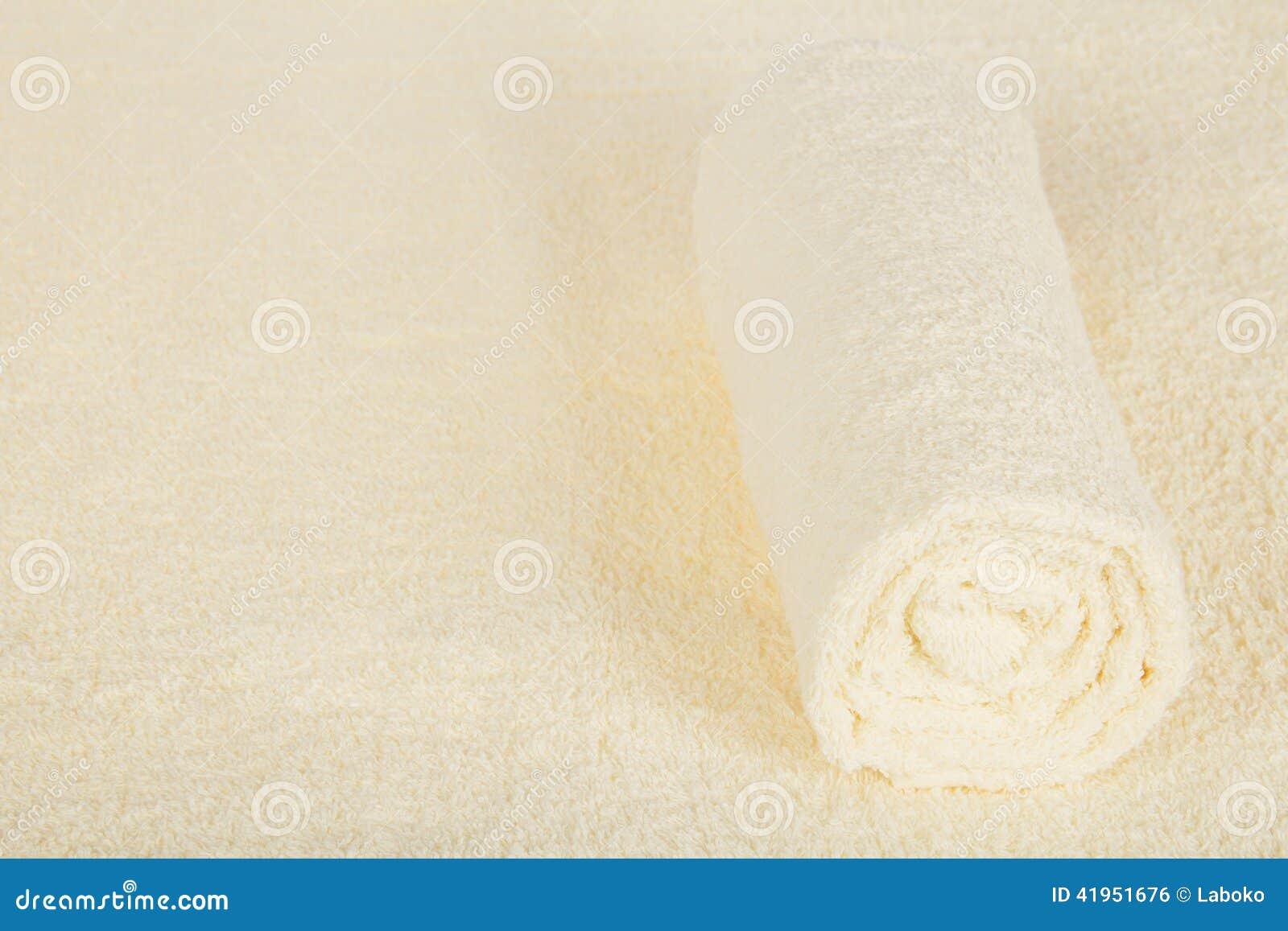 Miękka część, puszysty ręcznik przeciw