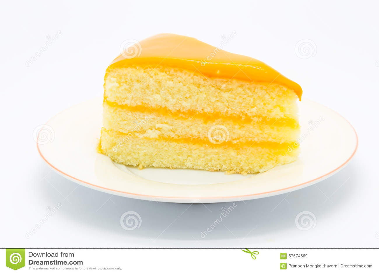 Miękki domowej roboty pomarańcze tort