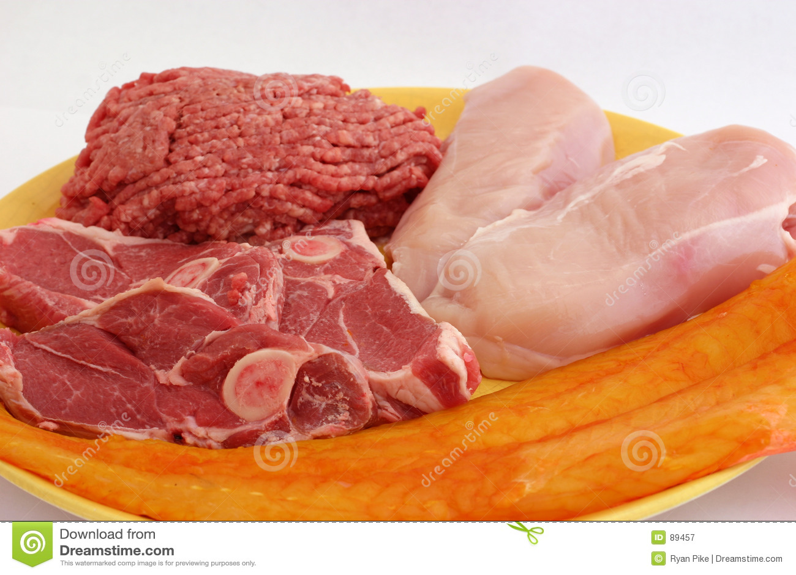 Mięso platter