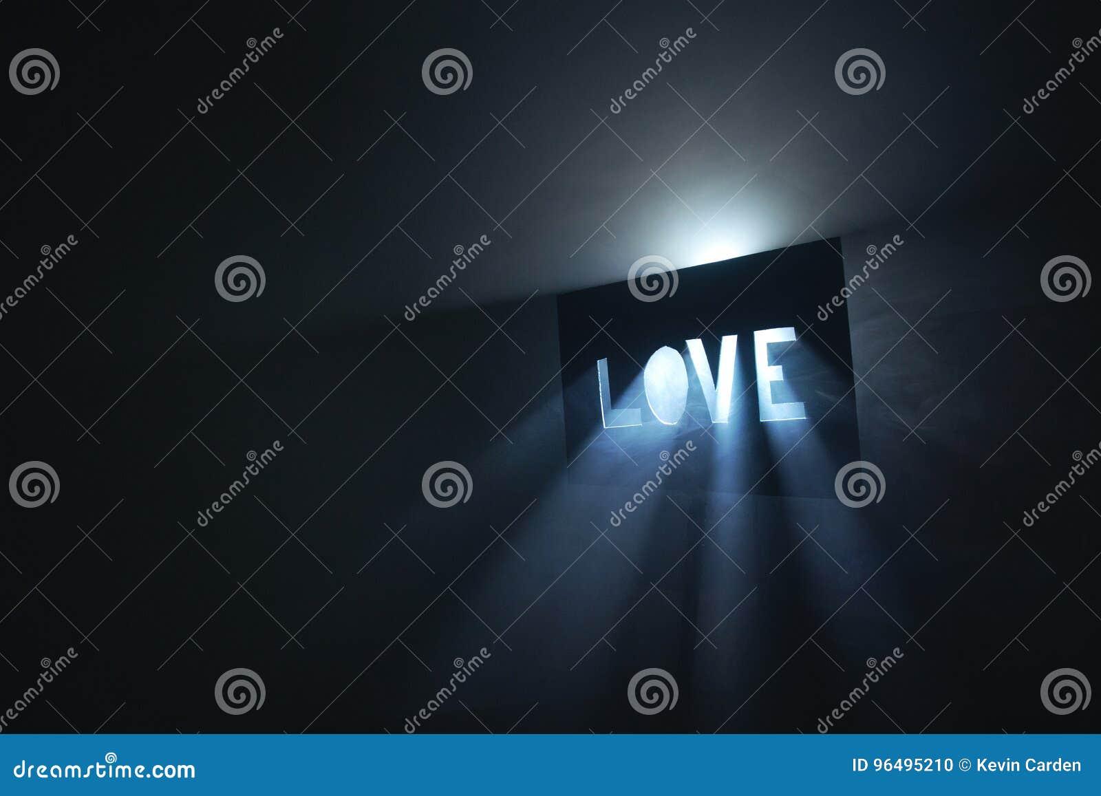 Miłość lekcy promienie