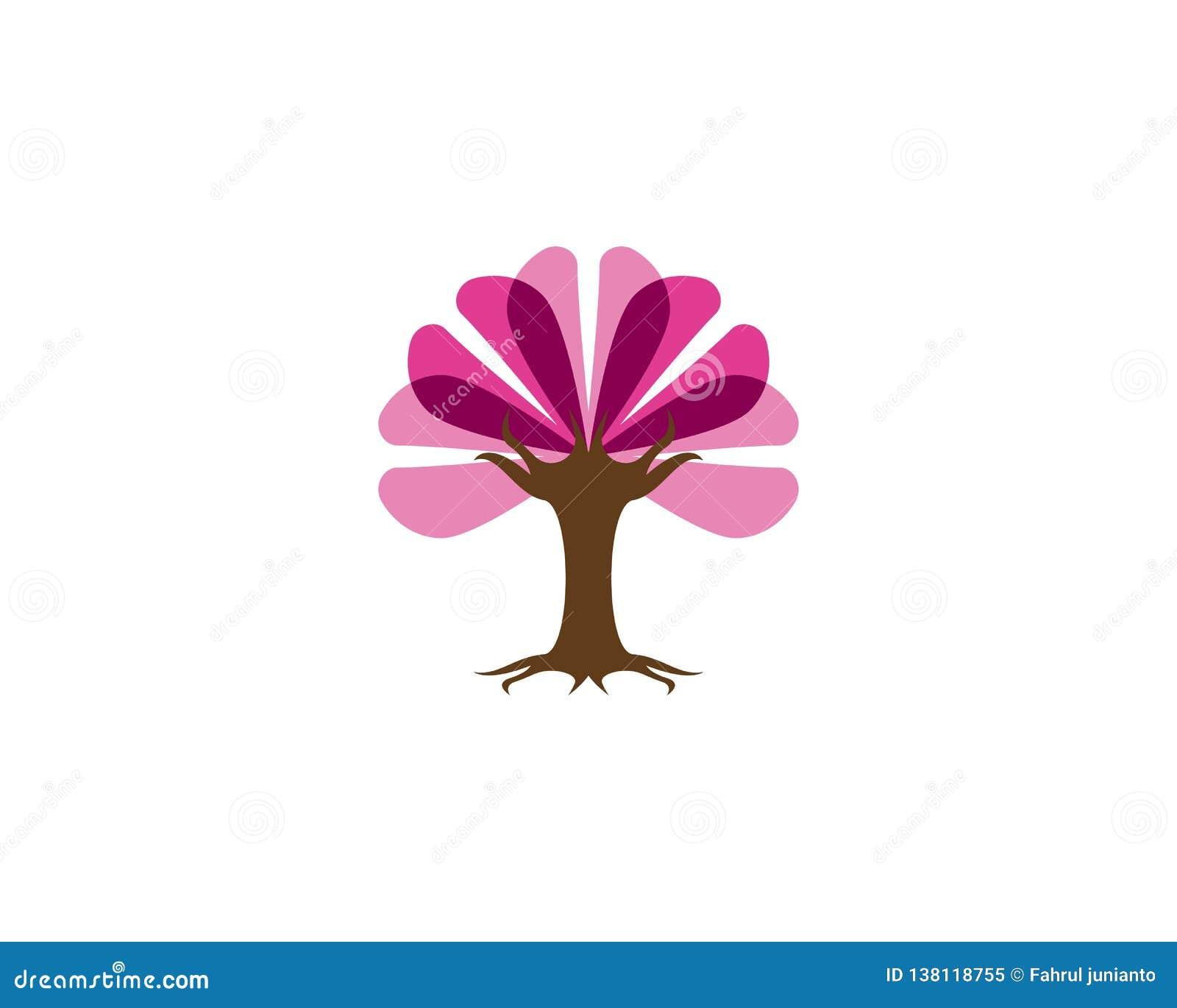 Miłości drzewa ikony wektoru ilustracja