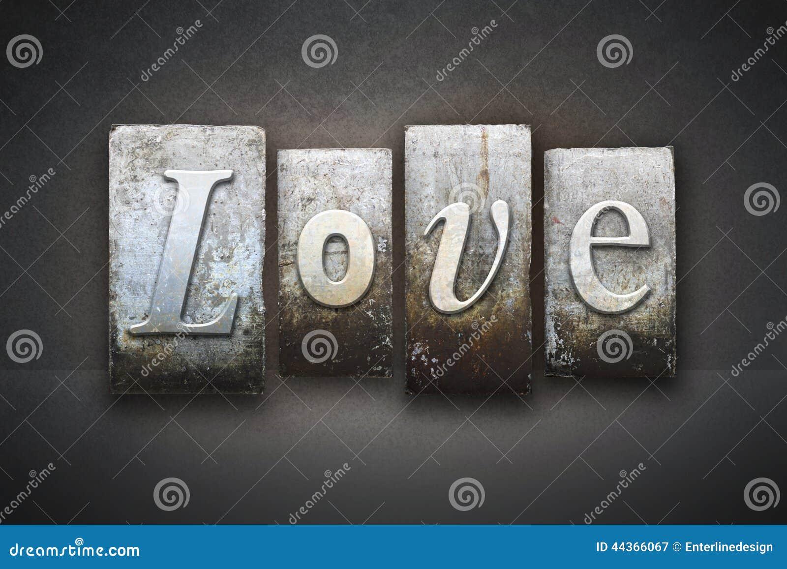Miłości Letterpress